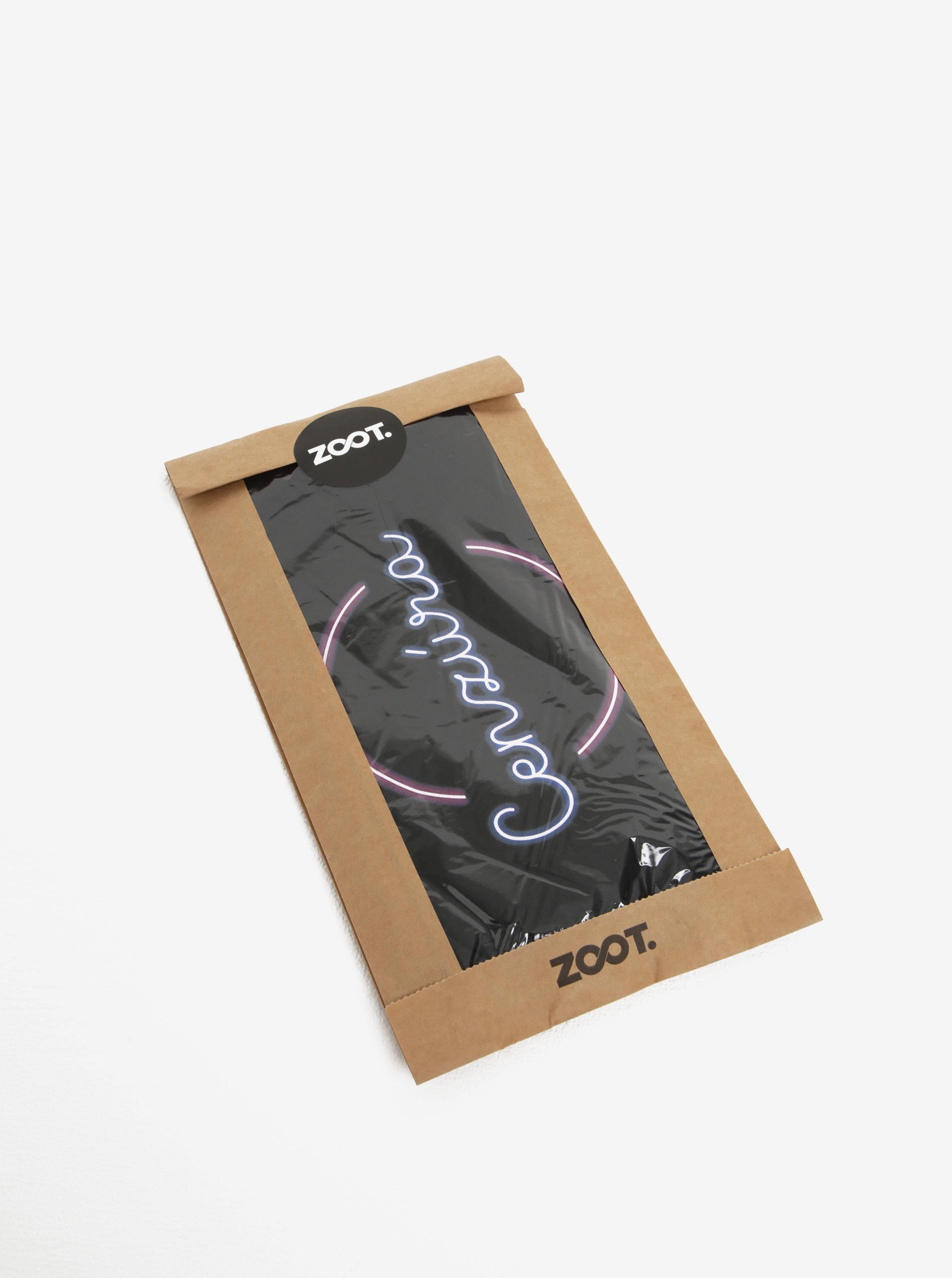 36aaf710a873 Čierne dámske tričko s potlačou ZOOT Original Cenzúra ...