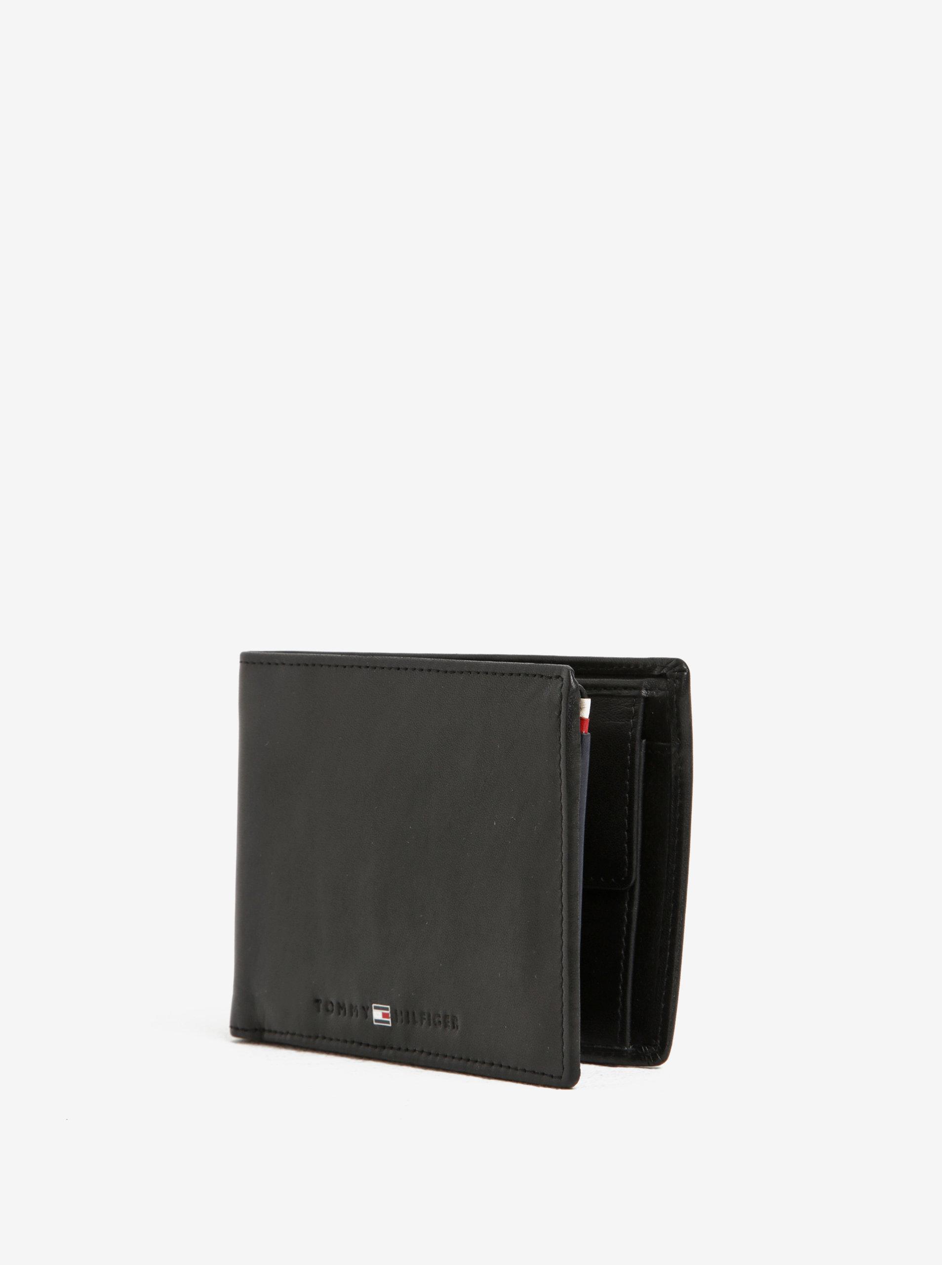dc9d82ff28 Čierna pánska kožená peňaženka Tommy Hilfiger Icons ...