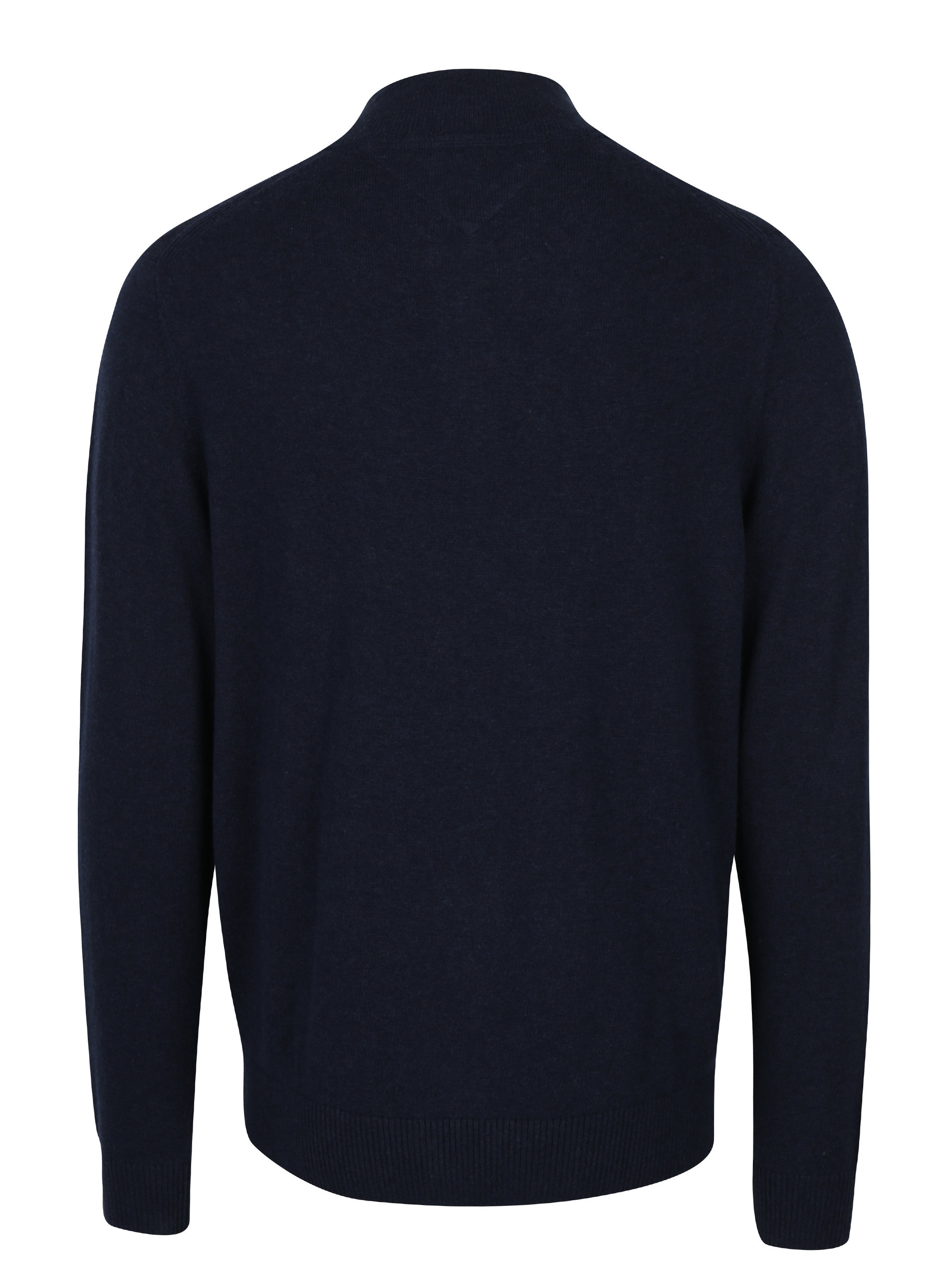 Tmavě modrý pánský svetr s příměsí kašmíru Tommy Hilfiger Pima ... edb9e00d48