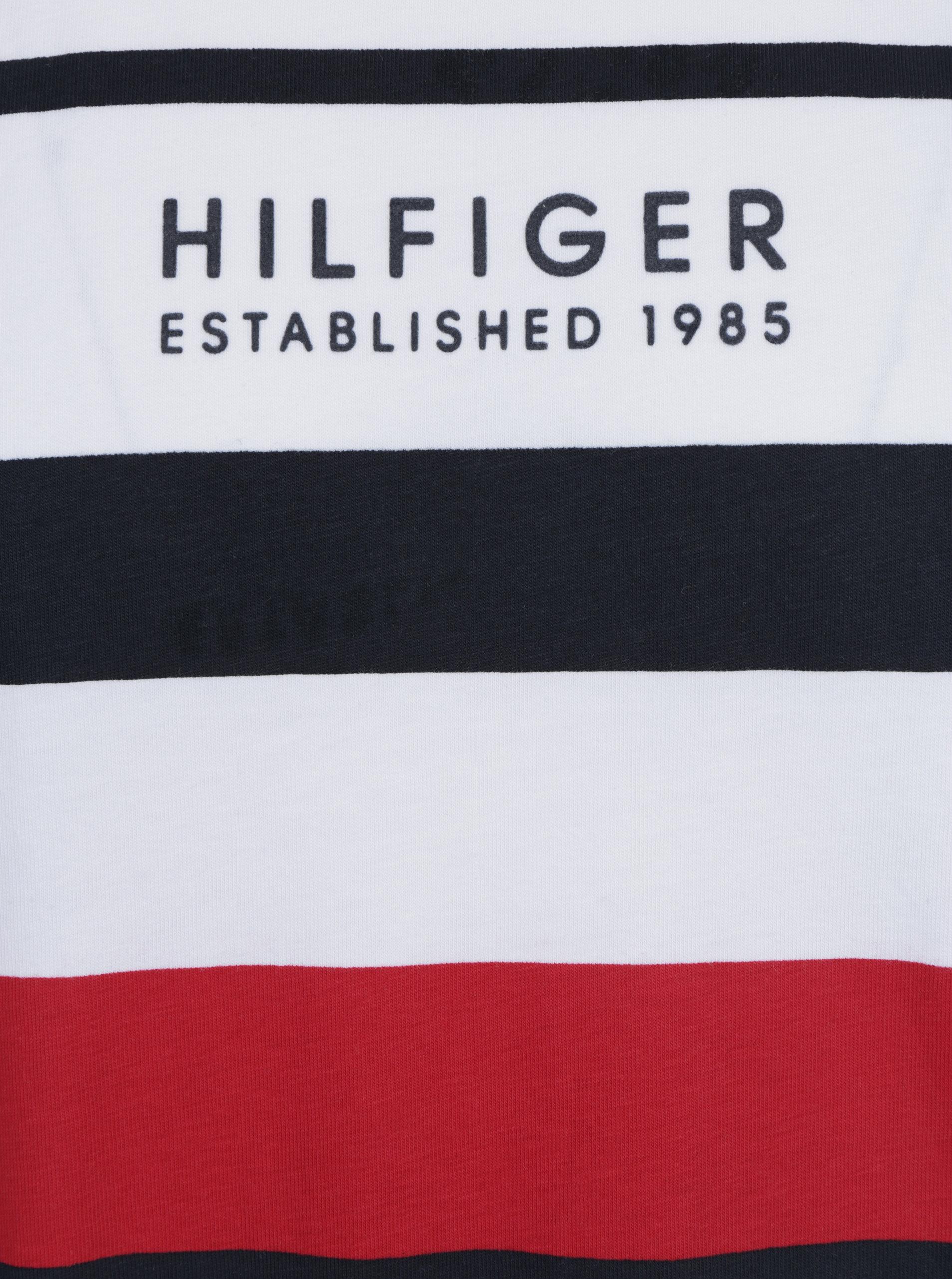 ecdc39bffd Biele pánske tričko s potlačou Tommy Hilfiger Norman