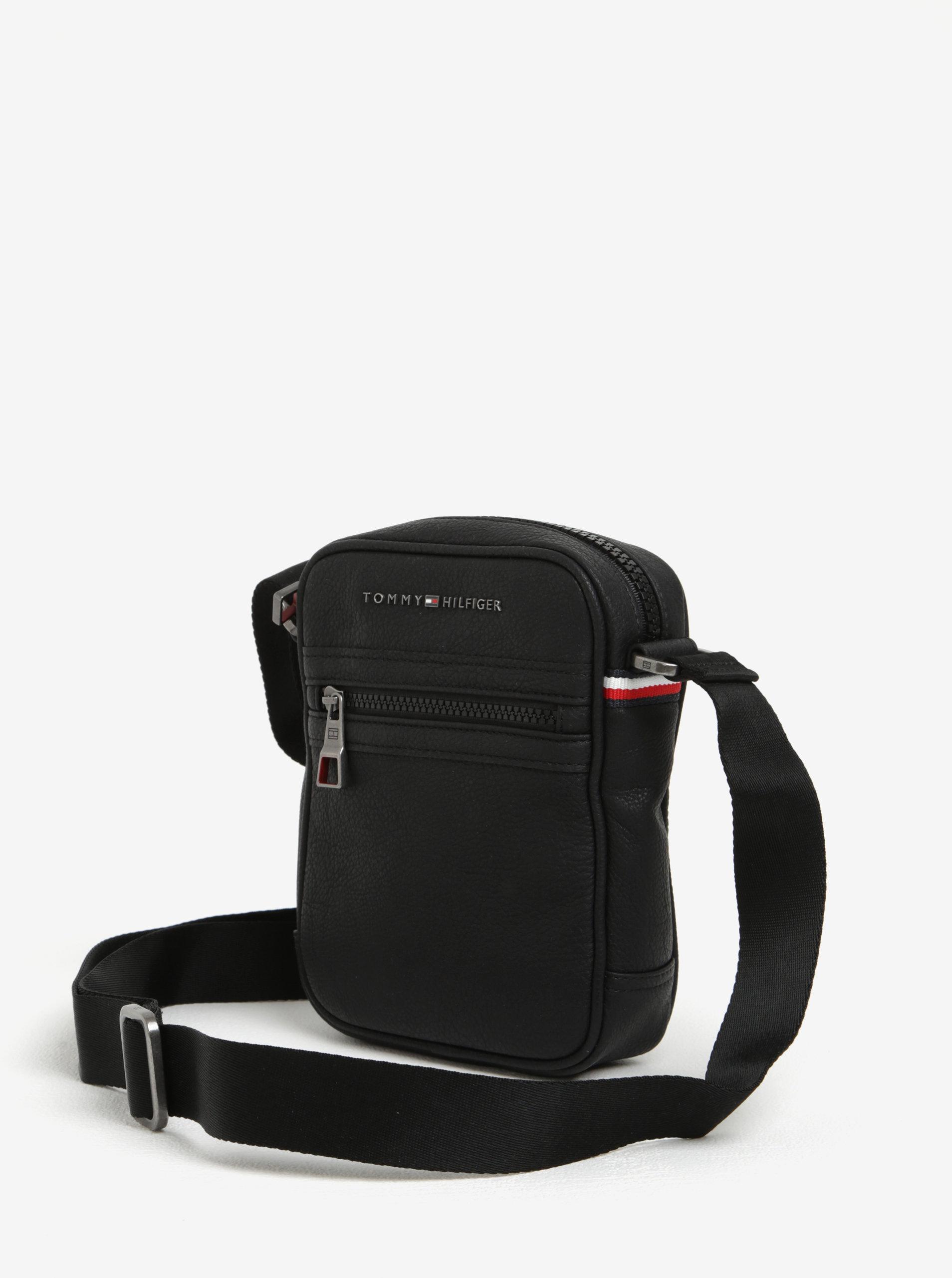 Čierna pánska crossbody taška Tommy Hilfiger Essential ... e391d532f0f