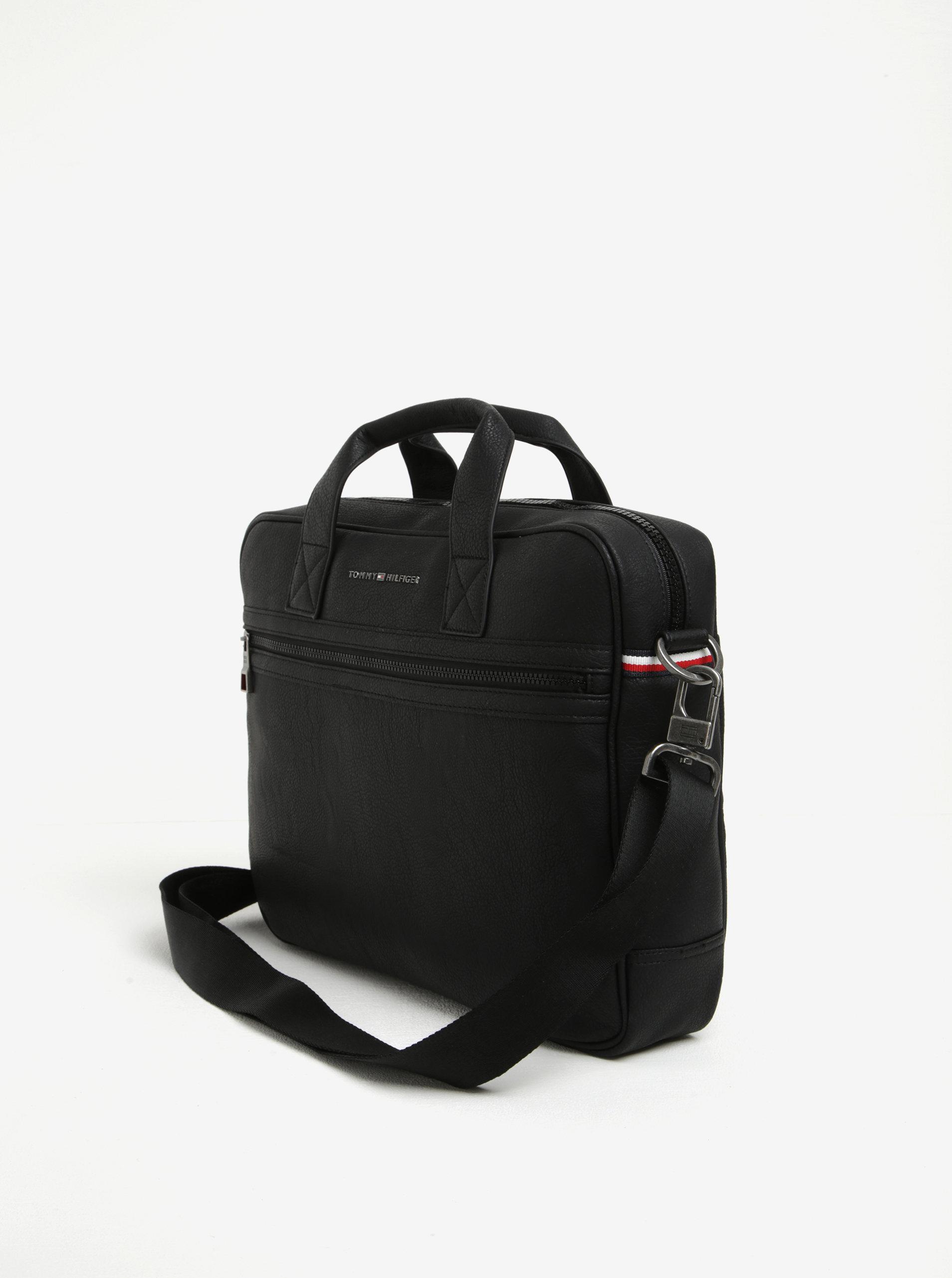 bcf2219dc7 Černá pánská taška na notebook Tommy Hilfiger Essential ...