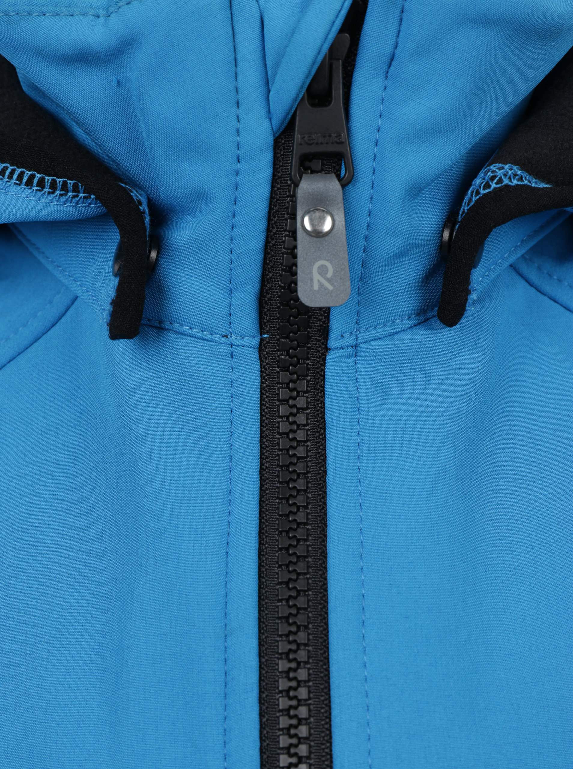 dbabc6f7b87e8 Modrá chlapčenská vodovzdorná softshellová bunda s kapucňou Reima Zayak ...