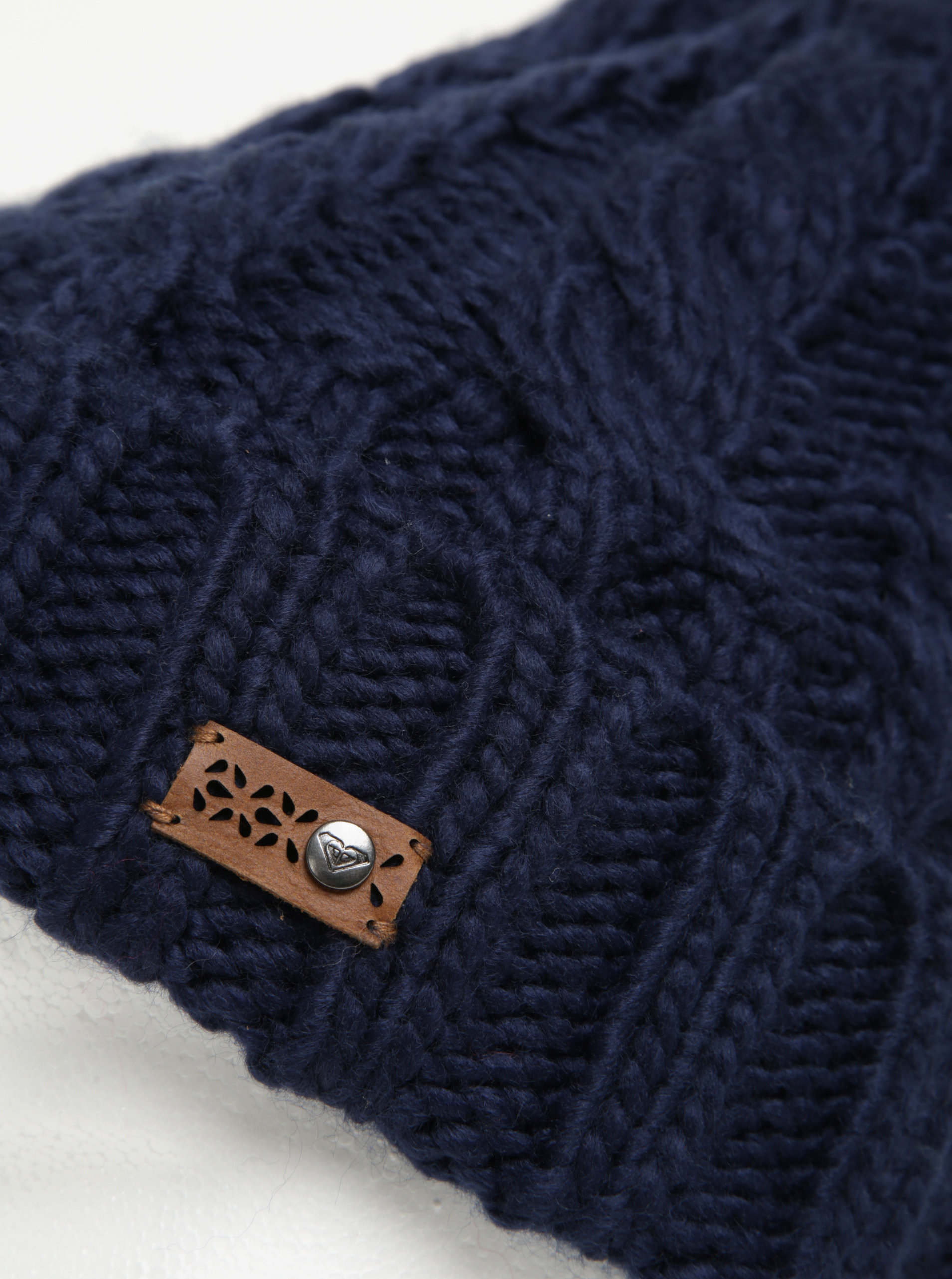 Tmavě modrá dámská pletená čepice Roxy Tram ... e0d1d53e81