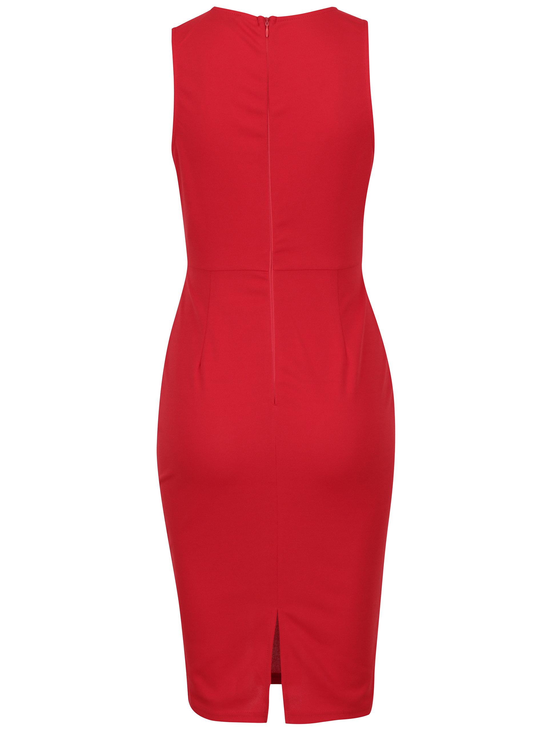 9a2b7d6d9bb7 Červené puzdrové šaty AX Paris ...