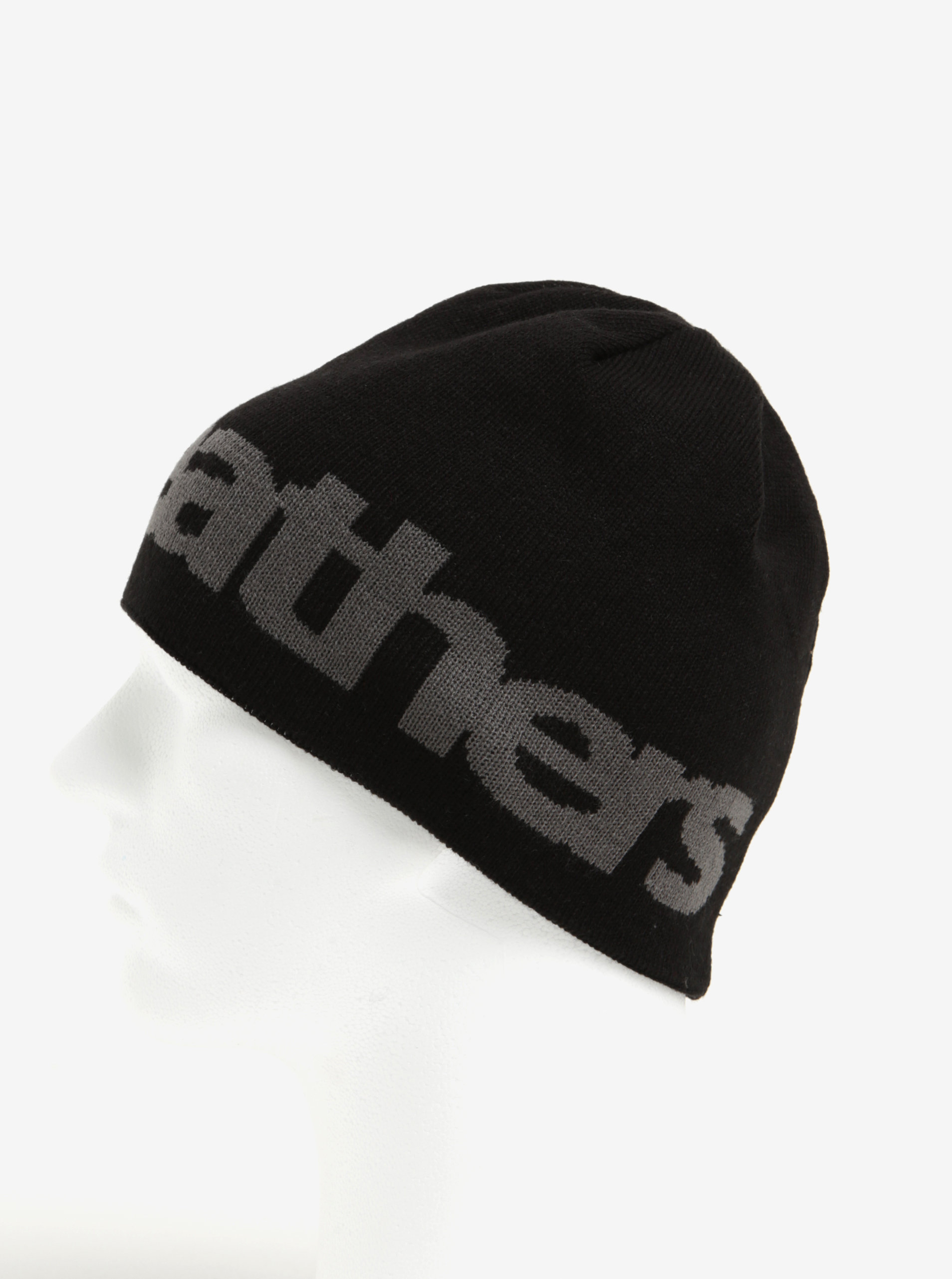 d92b031da Sivo-čierna pánska obojstranná zimná čapica Horsefeathers Fuse | ZOOT.sk