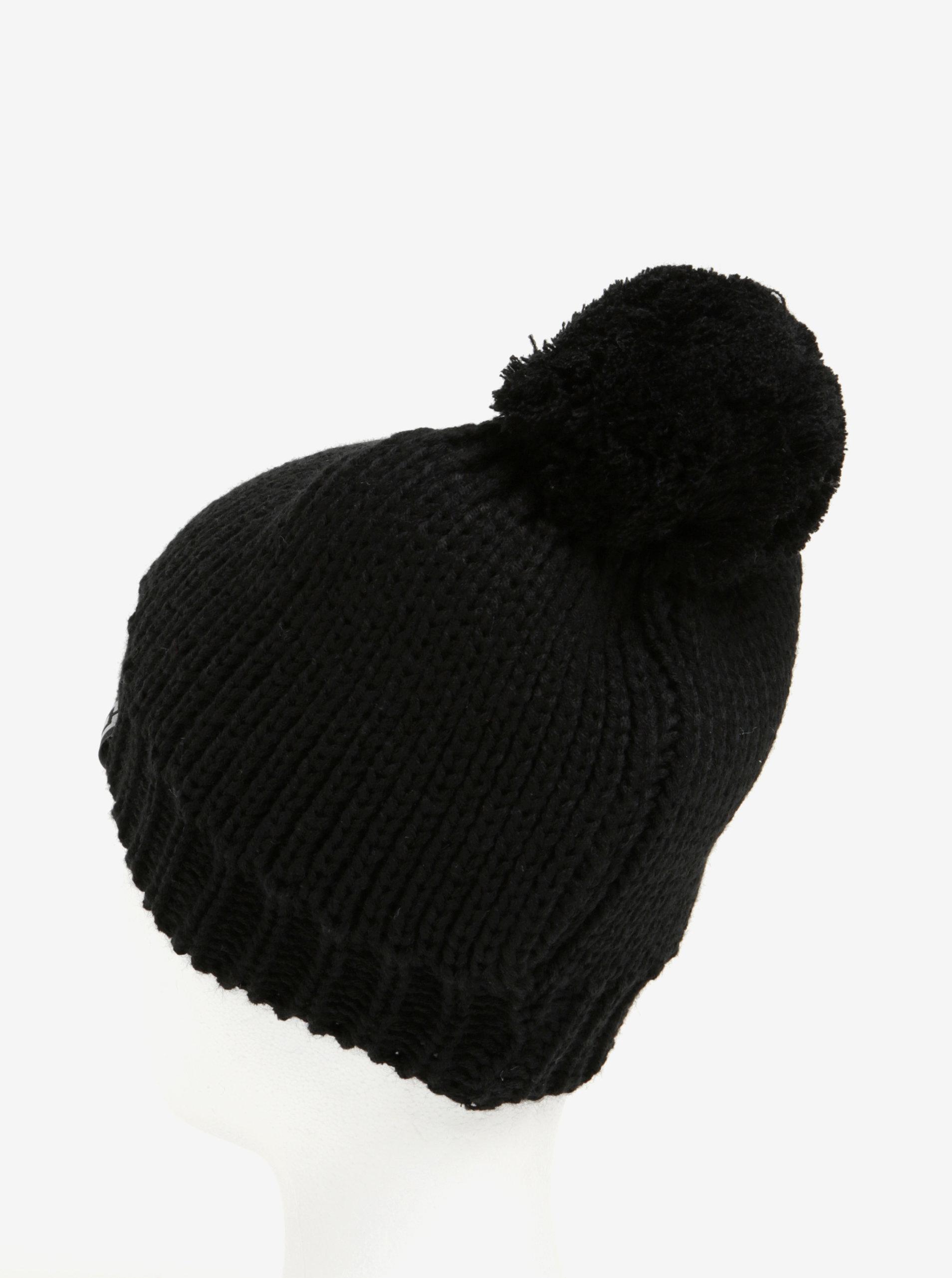 8b715eb95 Čierna dámska zimná čiapka s brmbolcom Horsefeathers Alexa | ZOOT.sk
