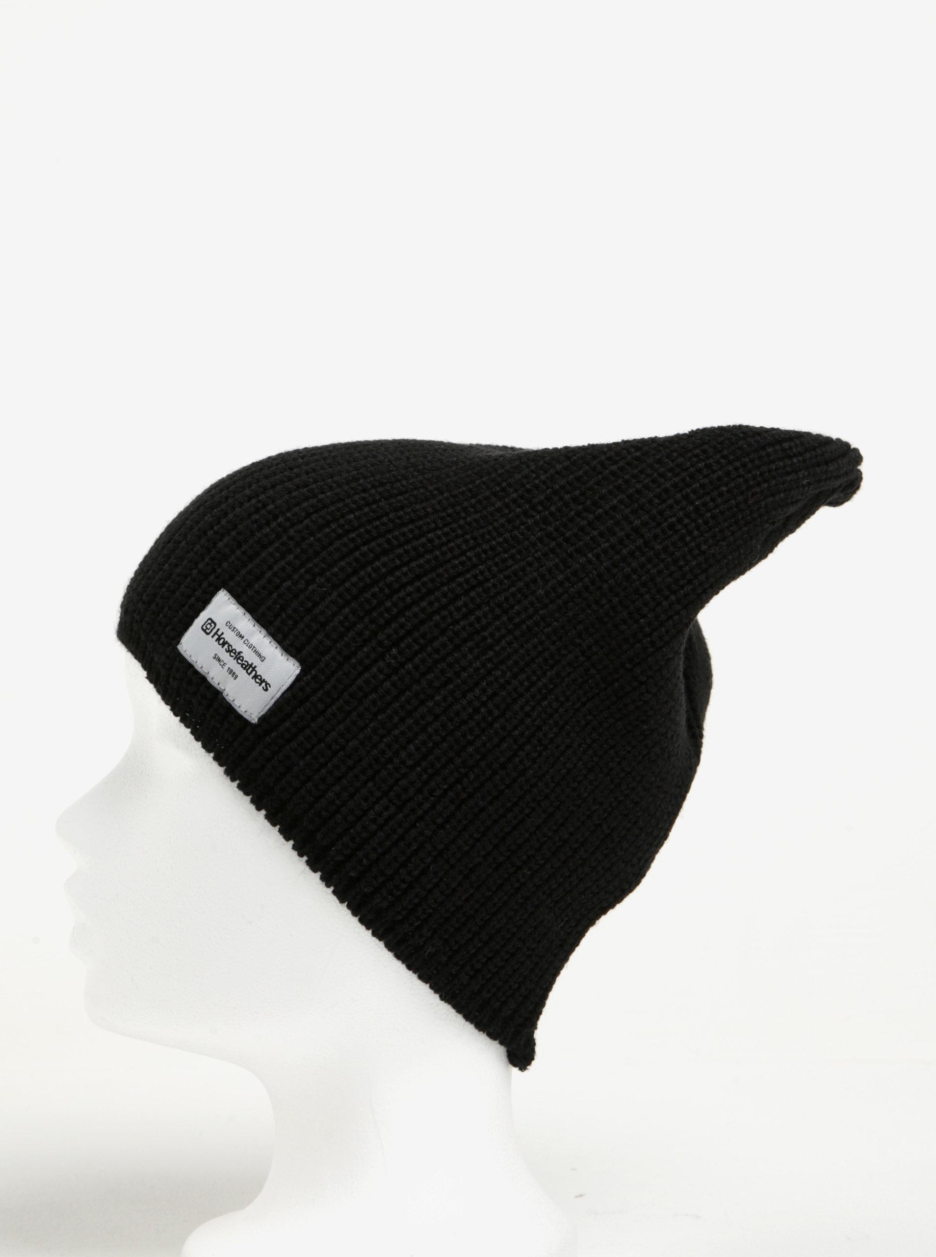 Černá dámská zimní čepice Horsefeathers Berta ... e916c54d42