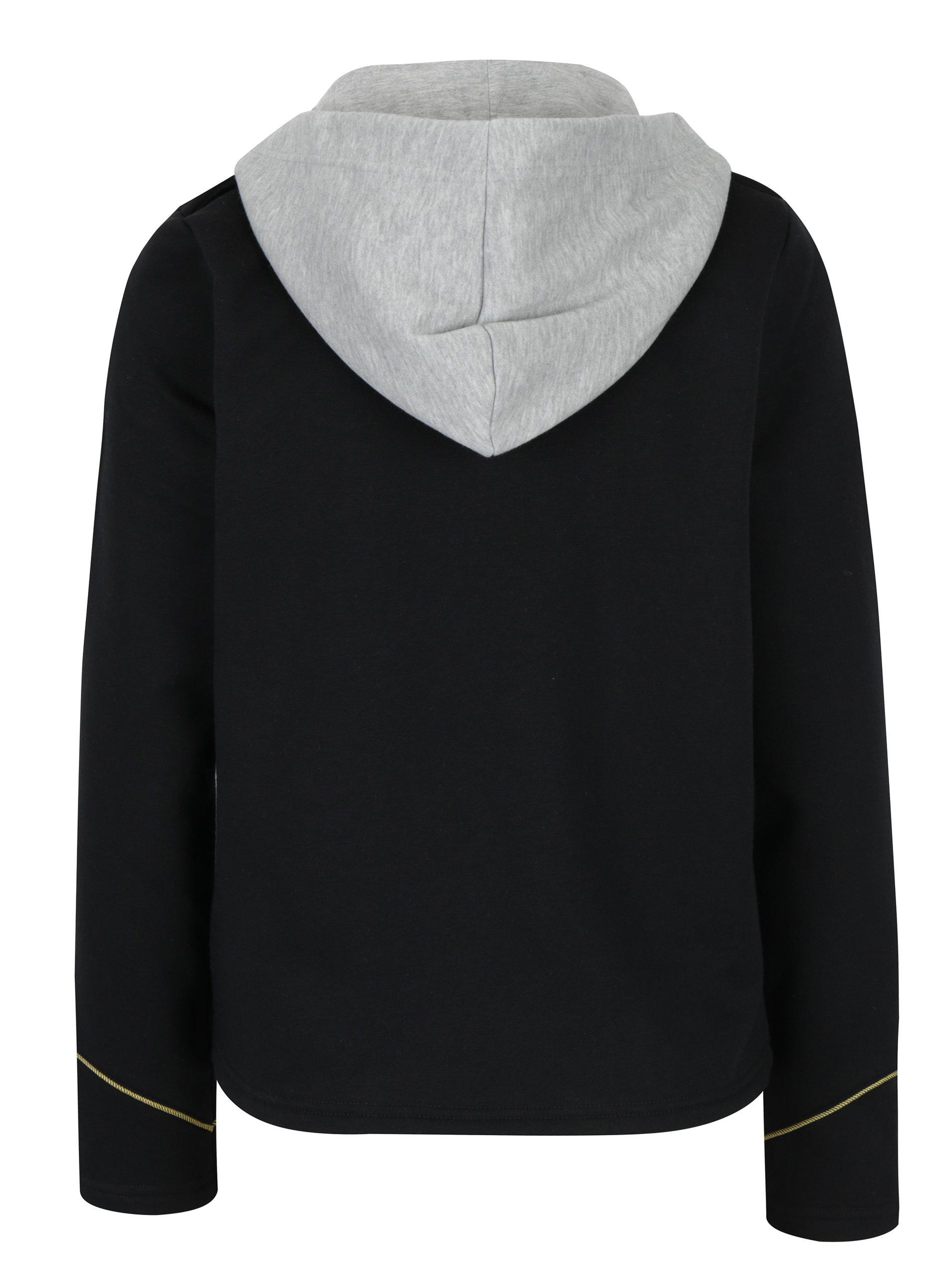 d16a03800e4 Černé sako s odepínací kapucí ONLY Luna ...