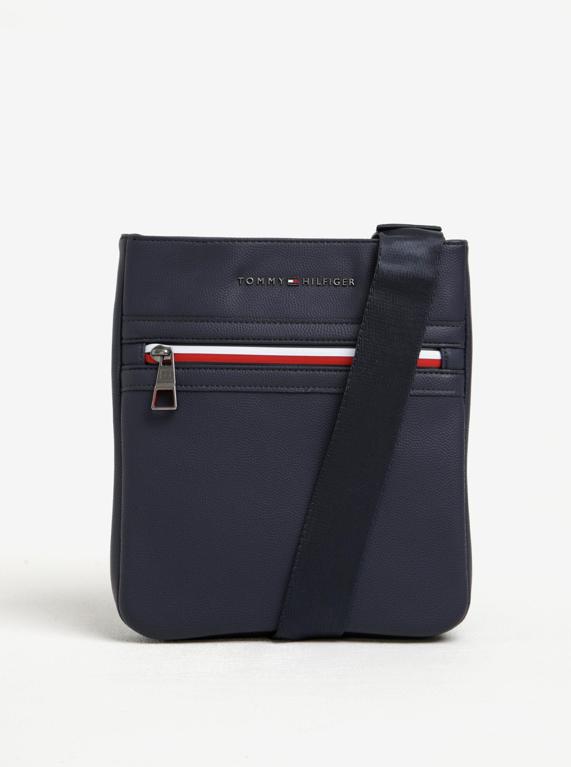23779db133 Tmavě modrá pánská crossbody taška Tommy Hilfiger ...