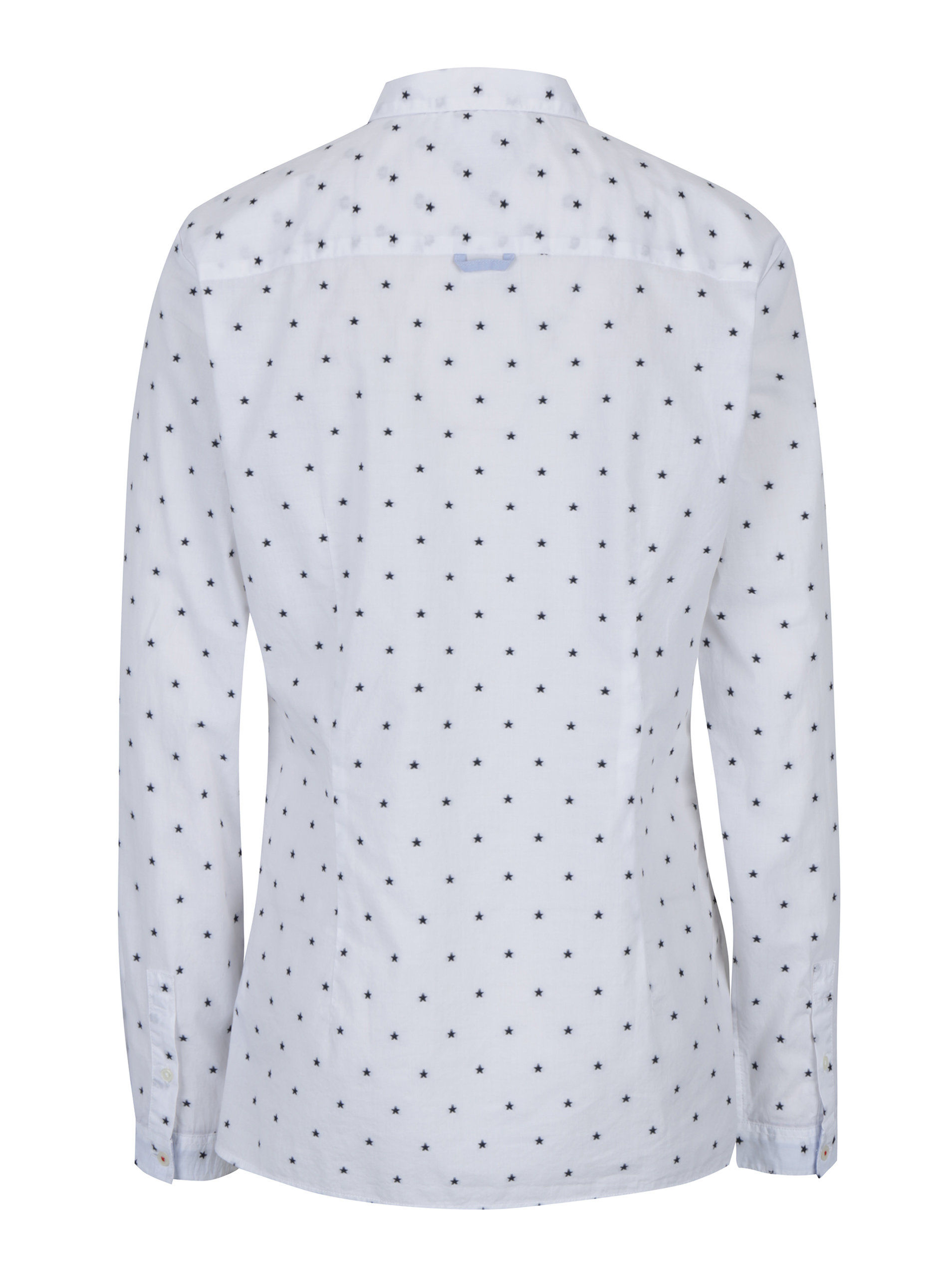 37dcddd7d08 Bílá dámská vzorovaná fitted fit košile Tommy Hilfiger ...