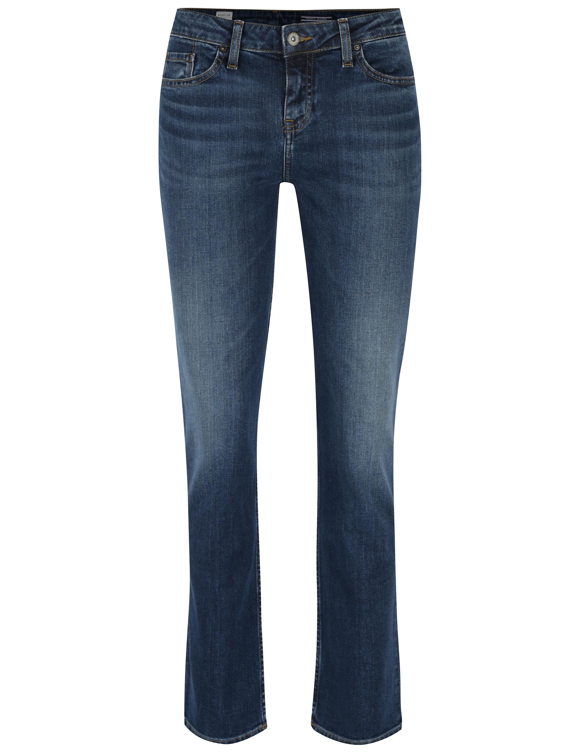 62d52b1f23a Modré dámské straight fit džíny Tommy Hilfiger Rome ...