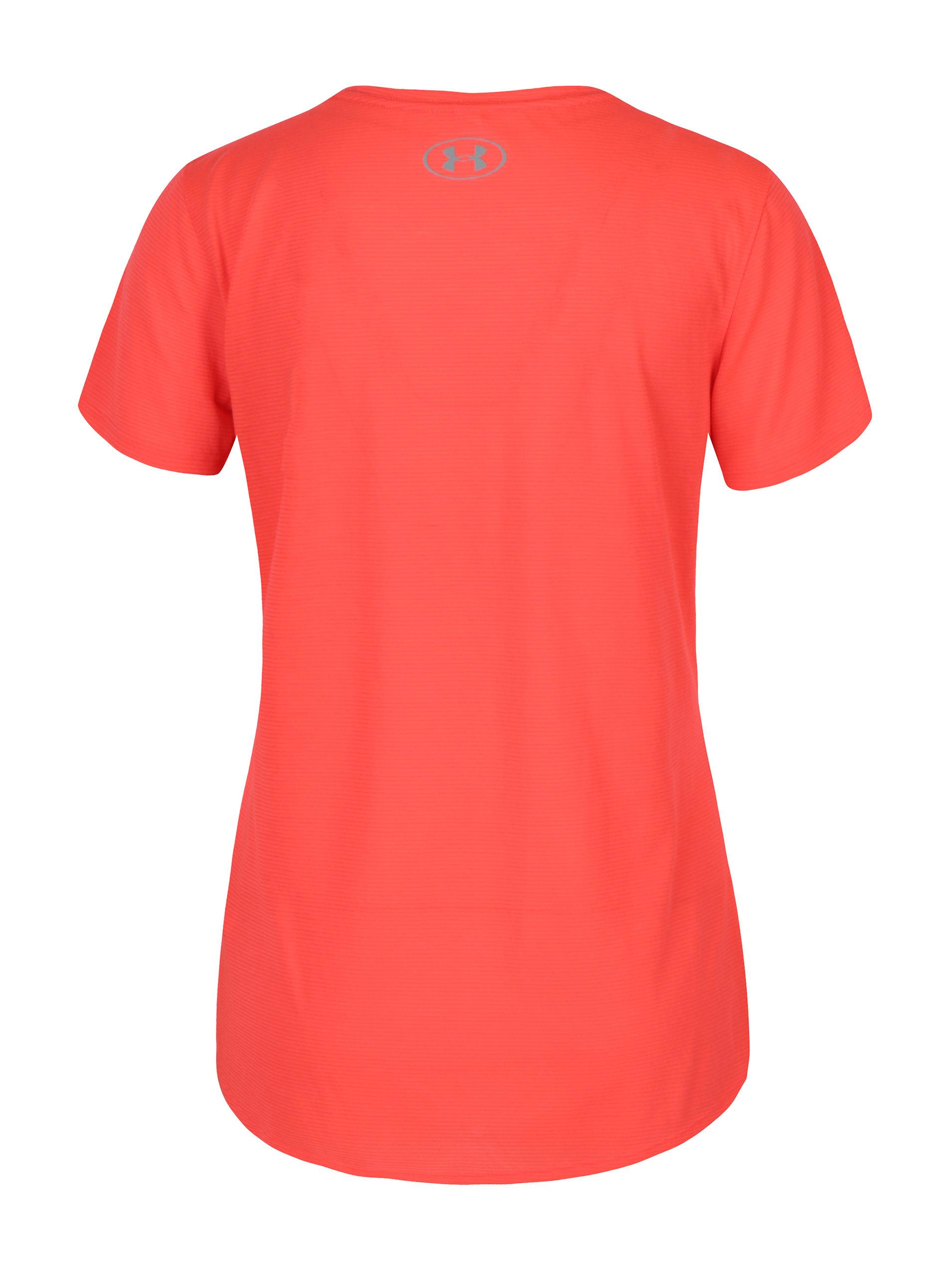 5998b90973dd Neónovo ružové dámske funkčné tričko Under Armour Threadborne Streaker ...