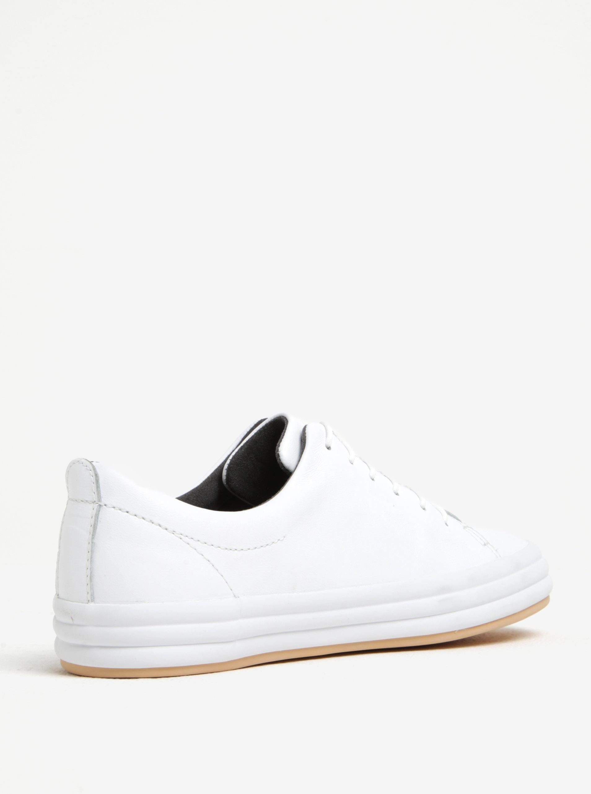 Bílé dámské kožené nízké tenisky Camper ... 346d49e530a