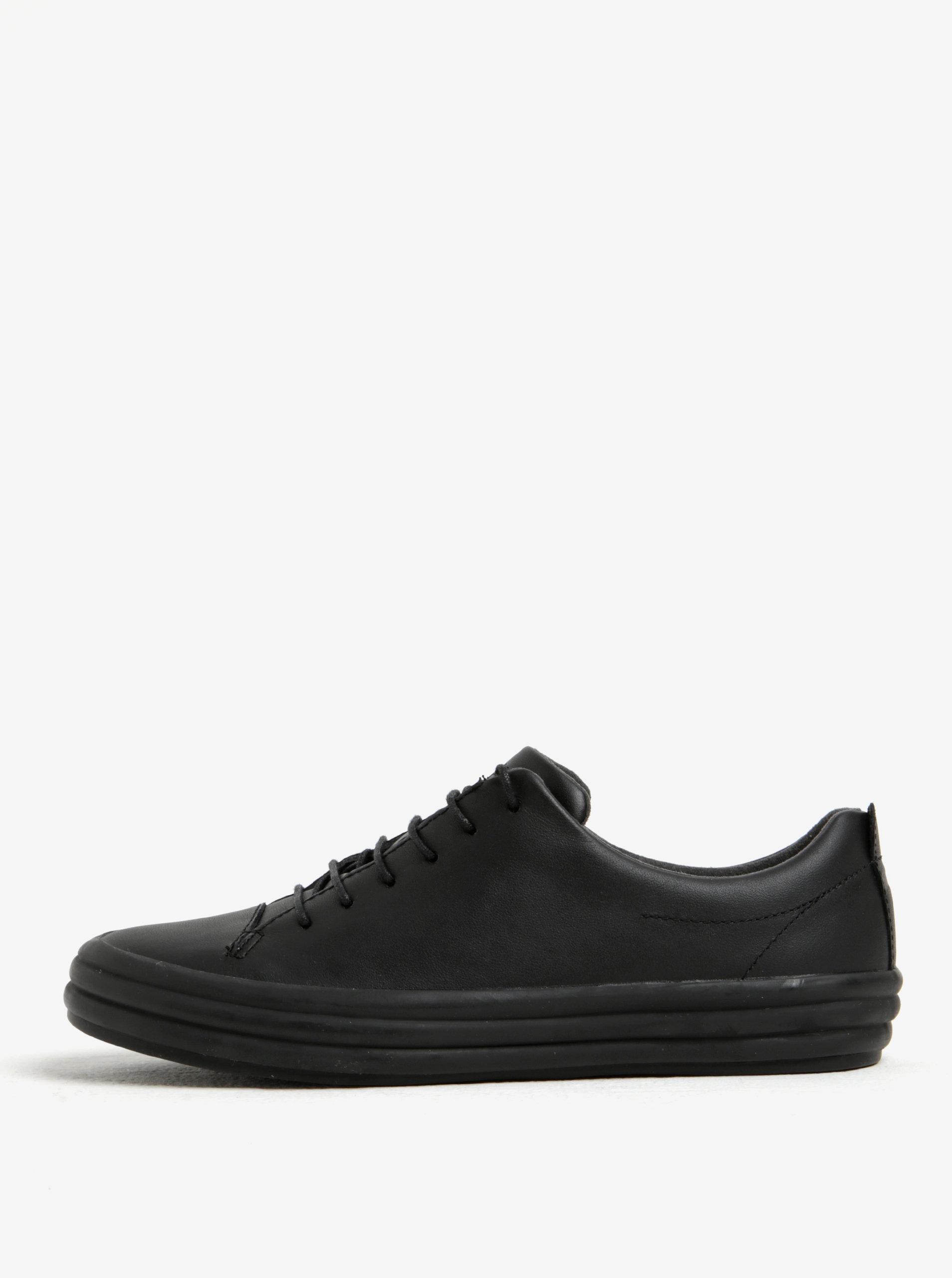 Čierne dámske kožené nízke tenisky Camper ... d1d97ff2855