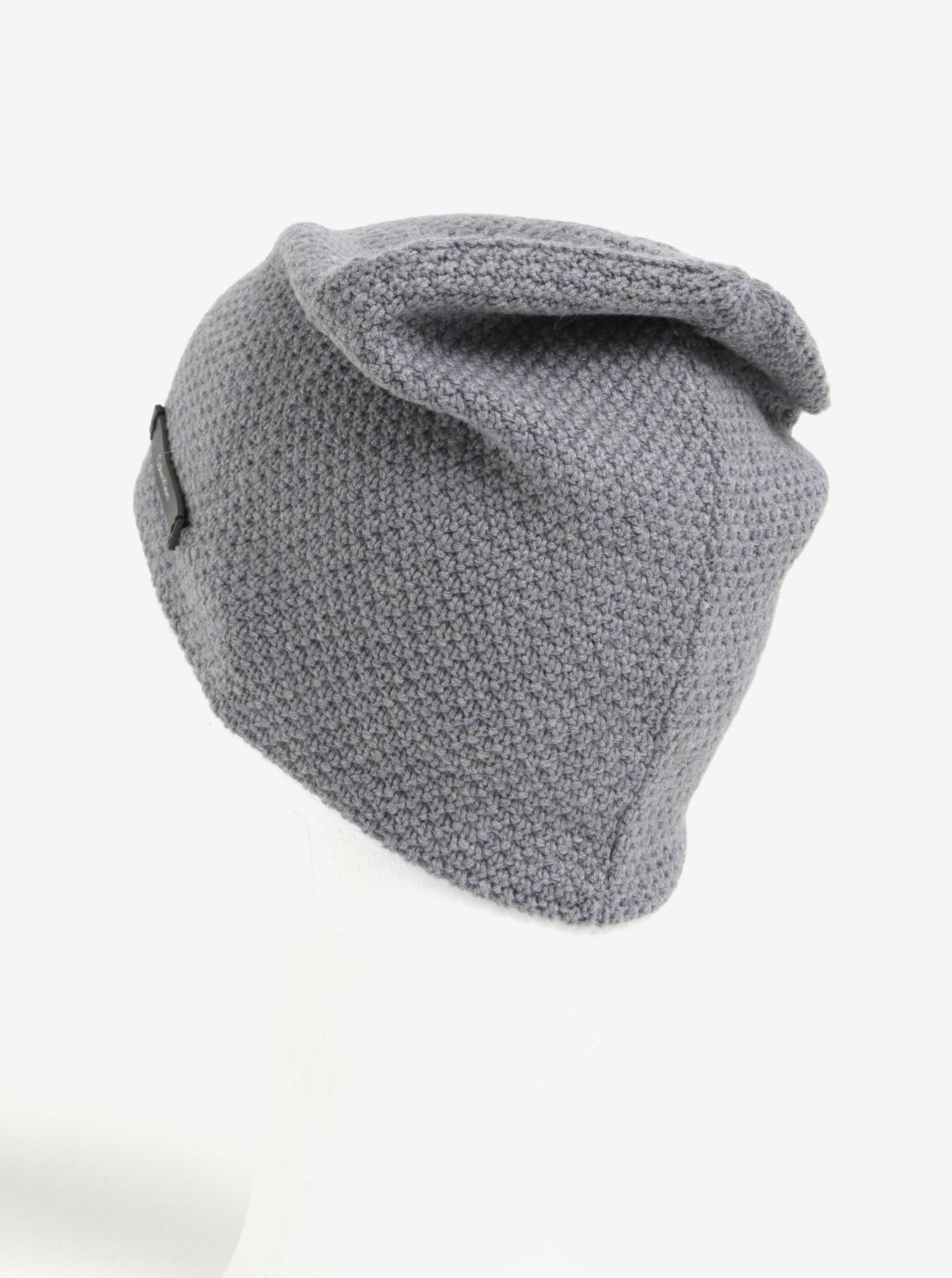 404e310df Sivá dámska vlnená čiapka Calvin Klein Emma   ZOOT.sk