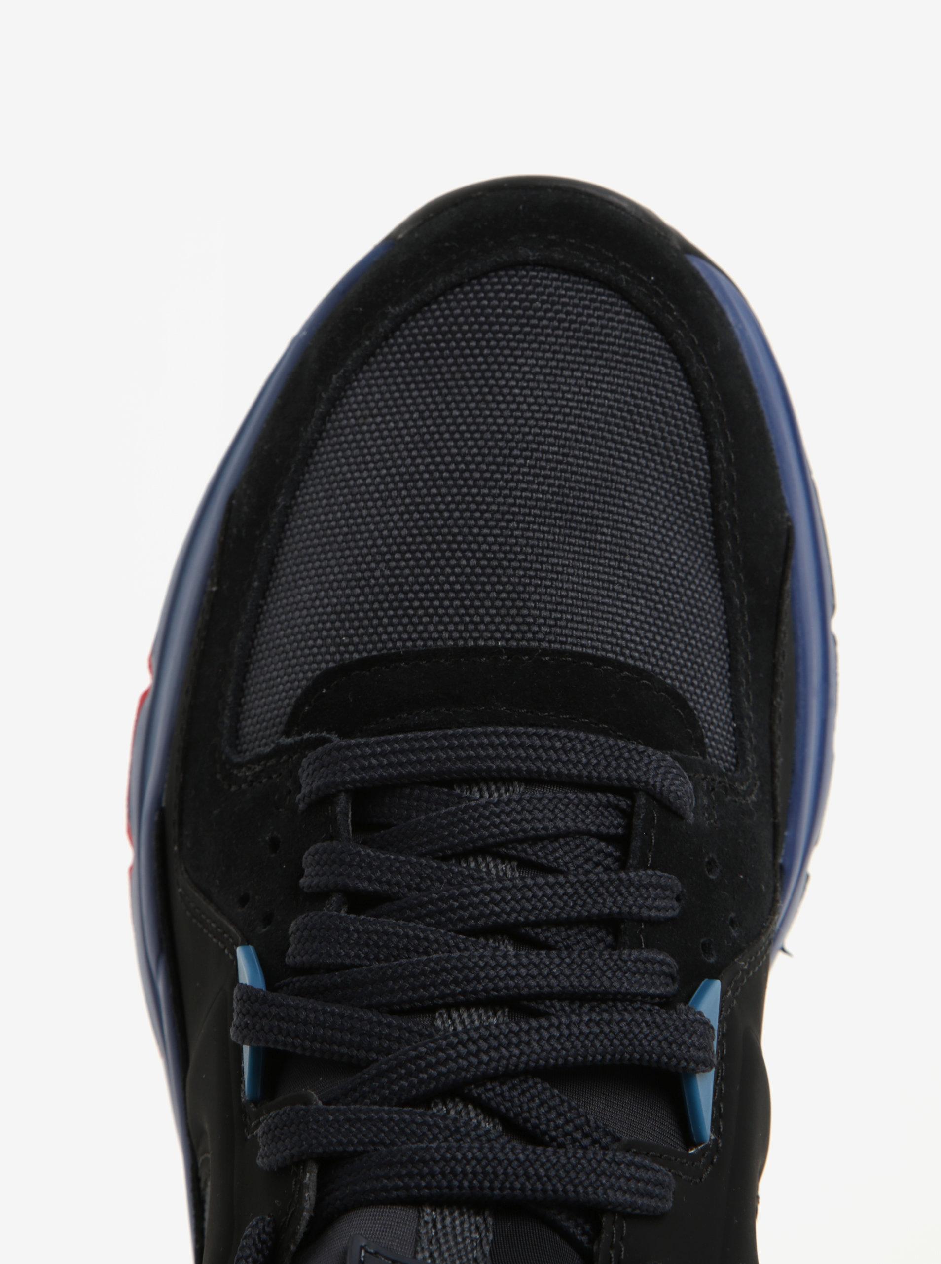 Modro-čierne pánske kožené športové tenisky Camper ... 9815e6856e2