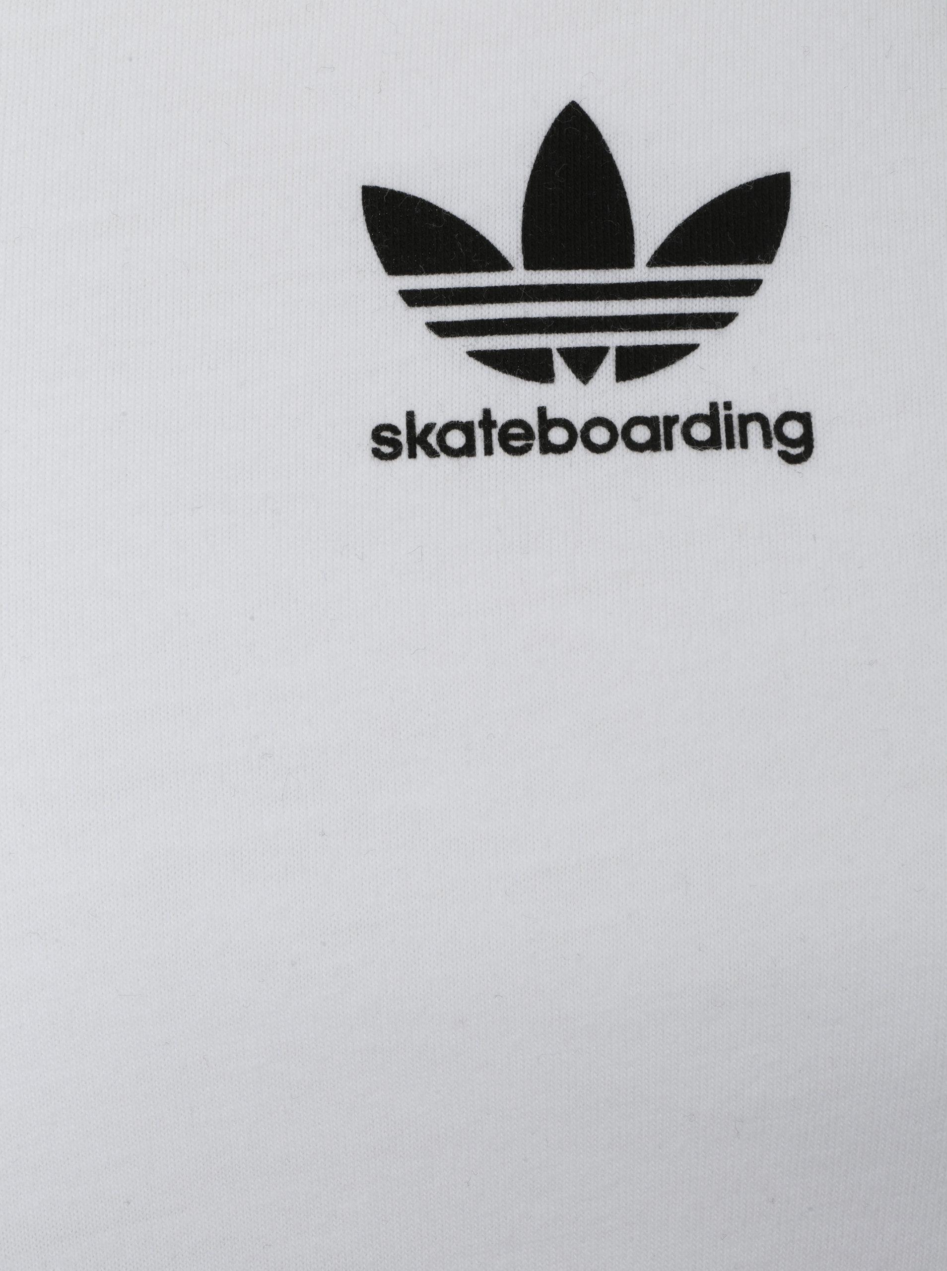 Černo-bílé pánské tričko s 3 4 rukávem adidas Originals ... 087f40e0722