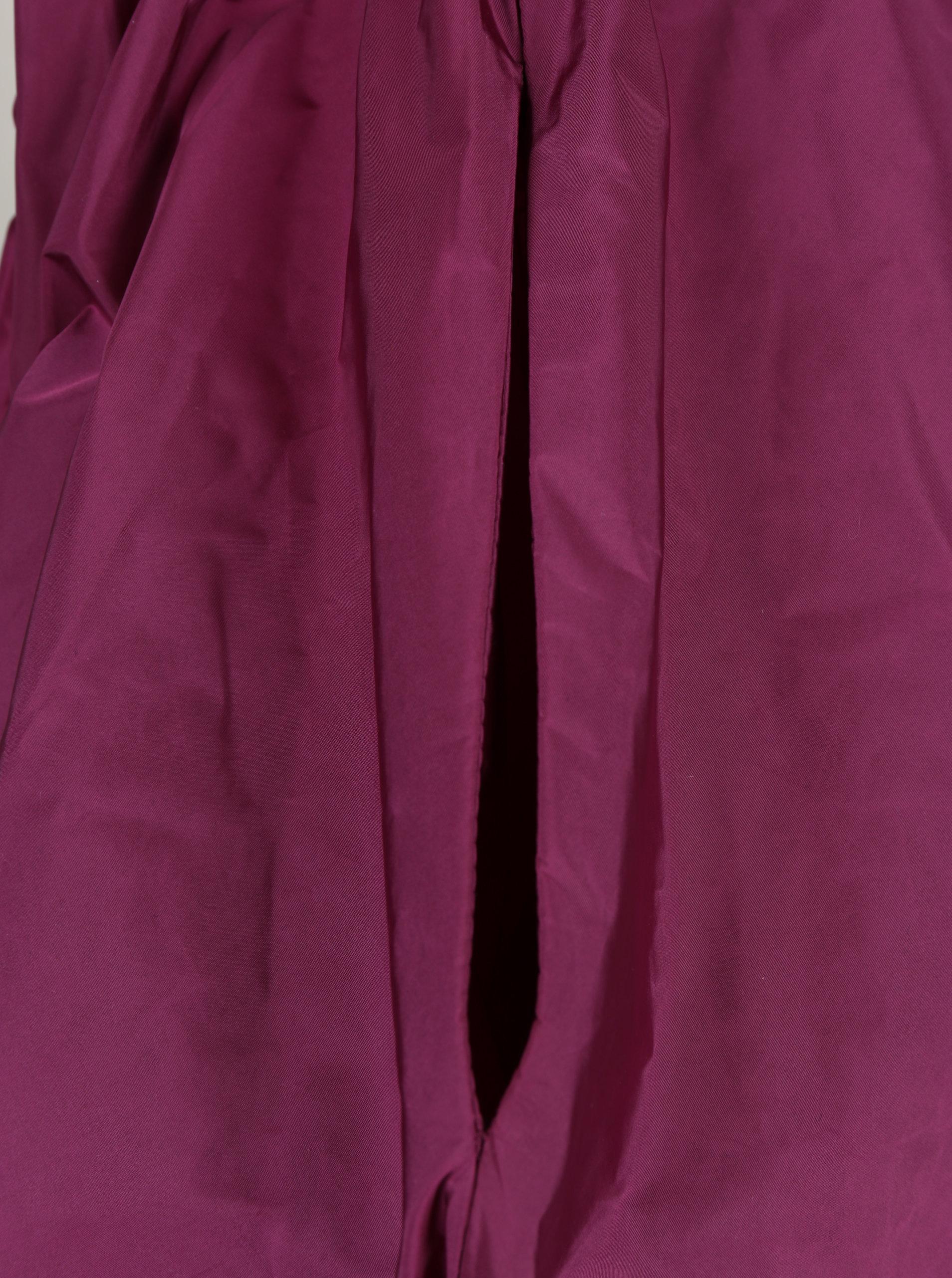 Fialová balónová sukně s kapsami Bianca Popp ... e65c5fe6e0