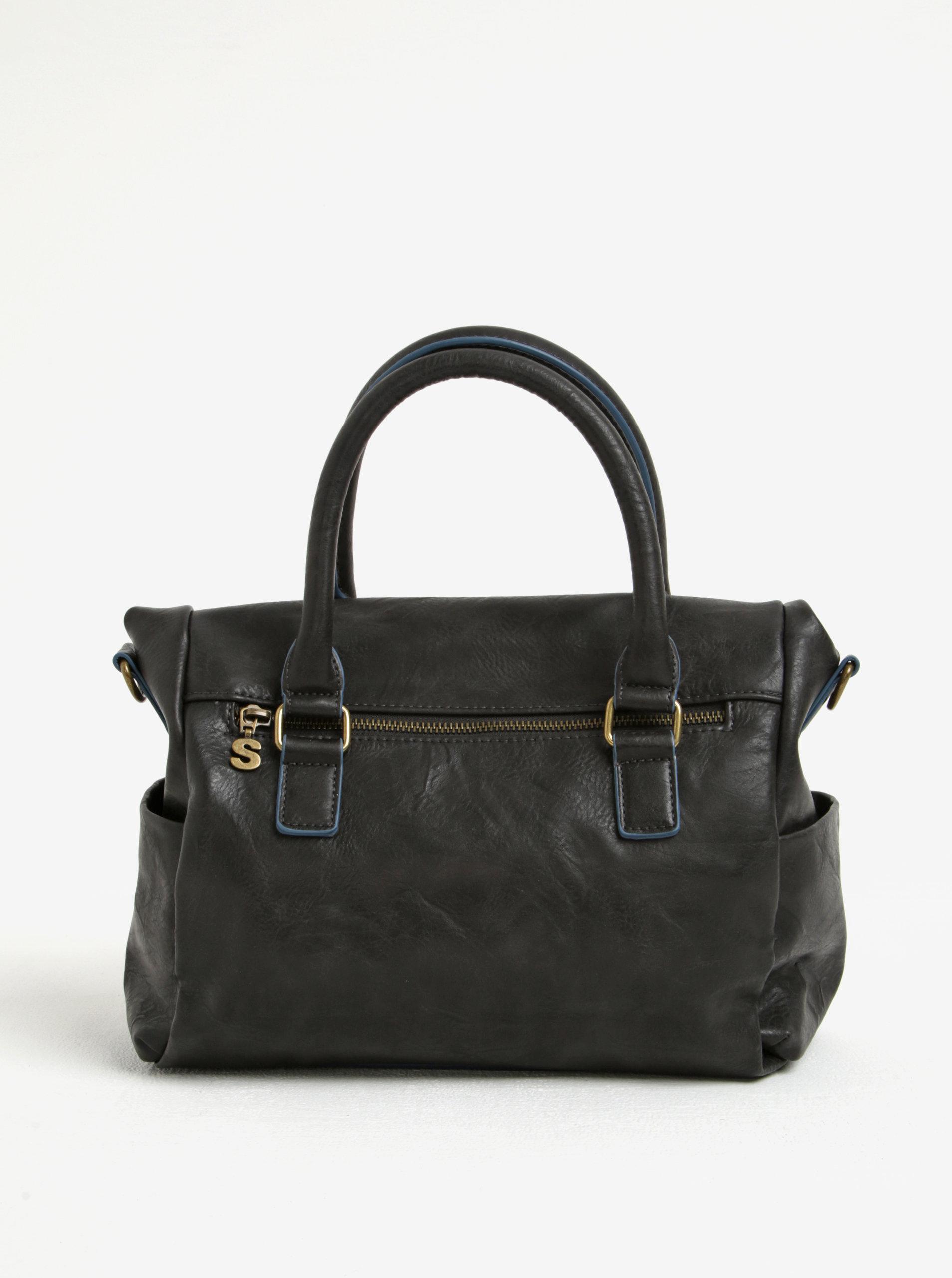 Čierna kabelka s ornamentmi Desigual Loverty Amber ... 97a3fed7885