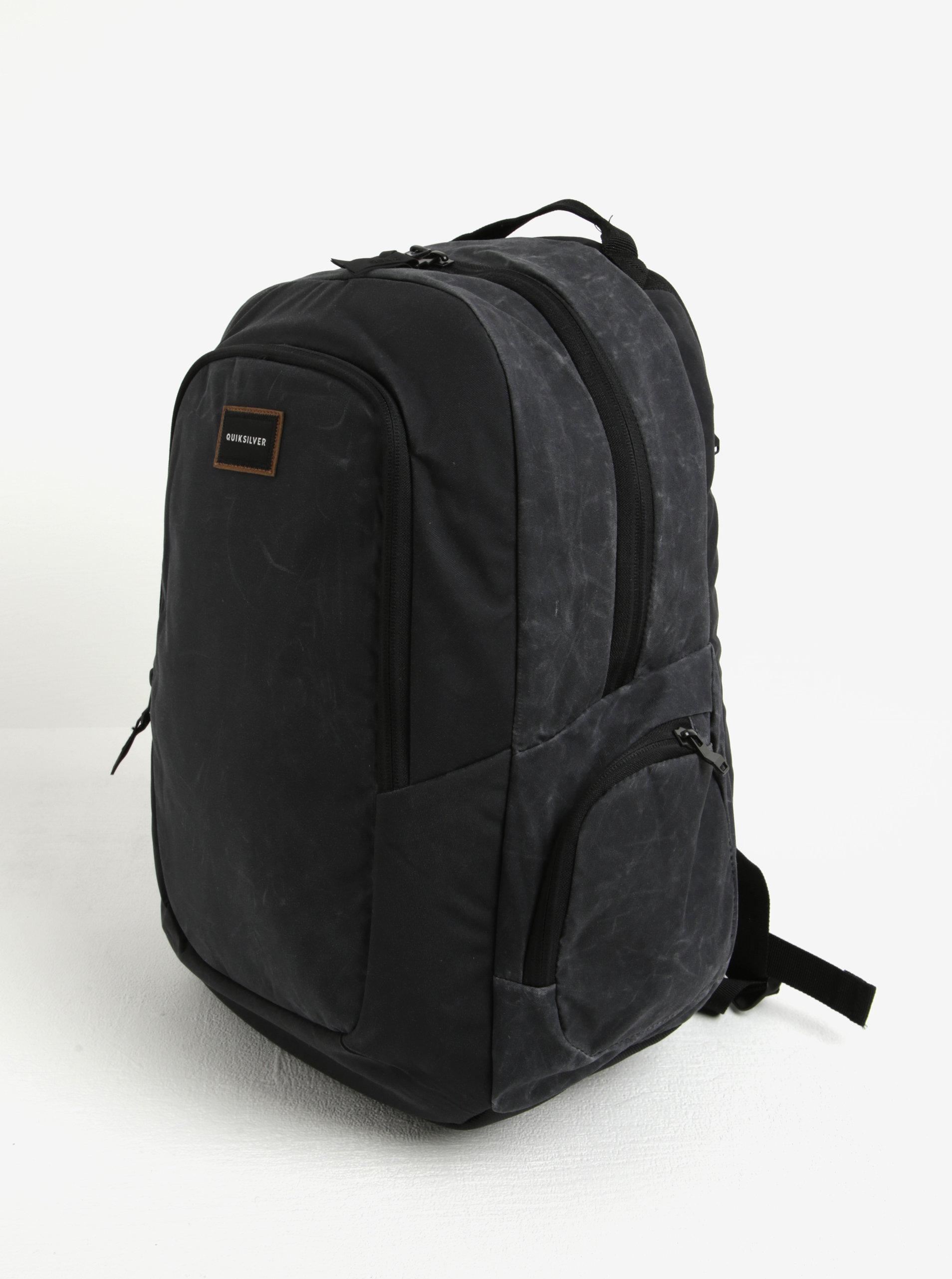 d4c3f7e3b5 Černý batoh Quiksilver 25l ...