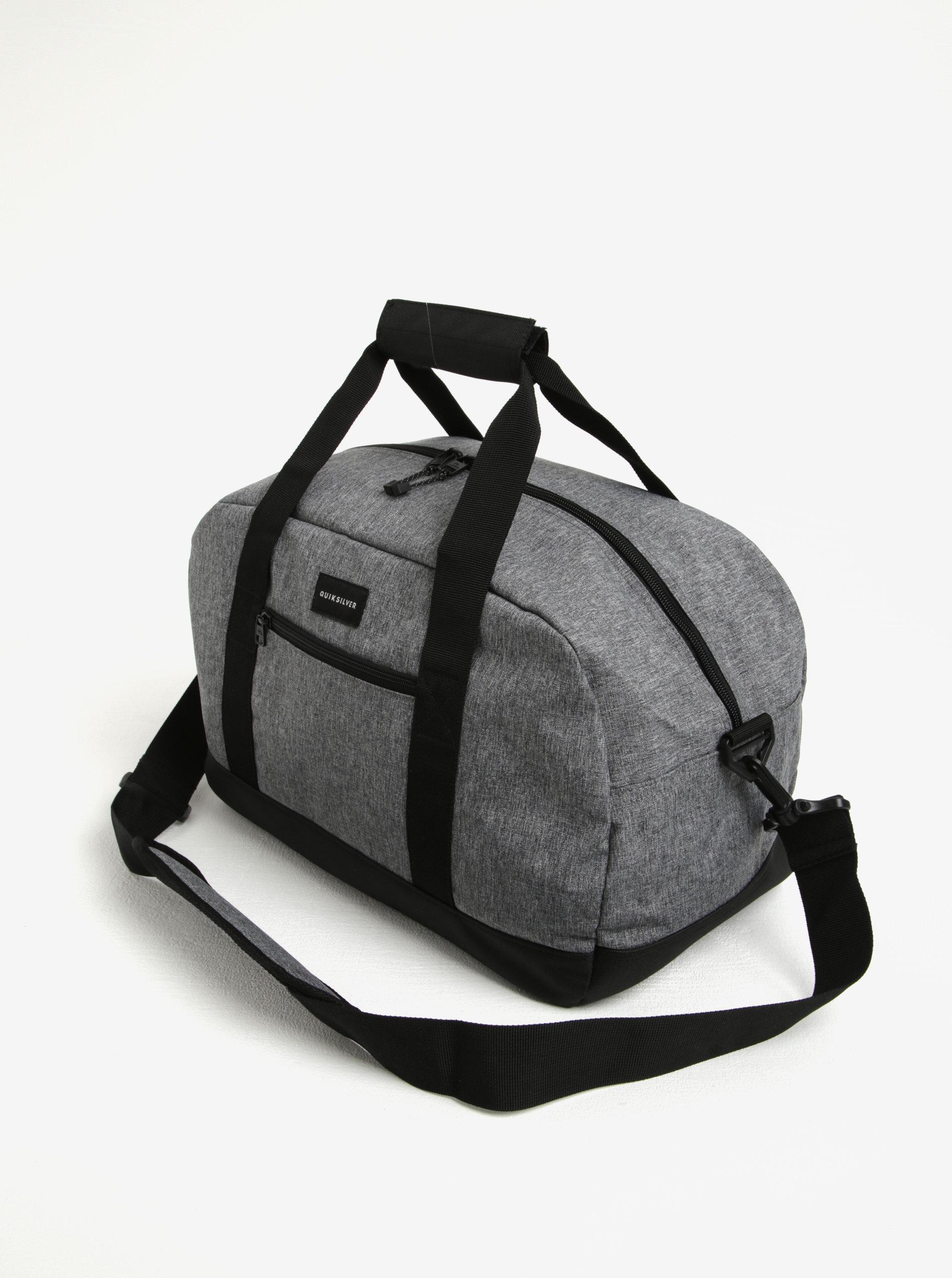 051ab28f5a2e Sivá pánska cestovná taška Quiksilver 31l | ZOOT.sk