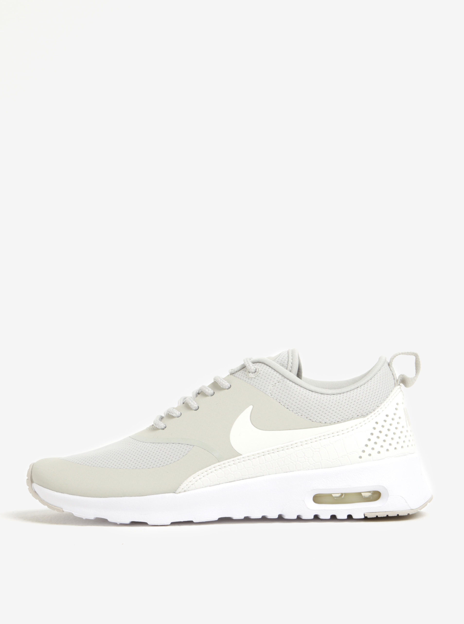 Sivé dámske tenisky Nike Air Max Thea ... 4455ecfade2