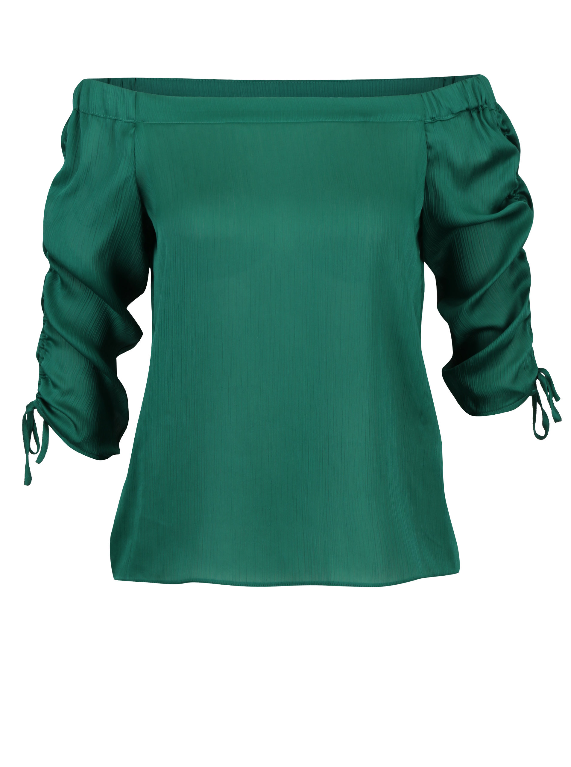 909a3565ebd4 Zelená blúzka s odhalenými ramenami Dorothy Perkins Petite ...