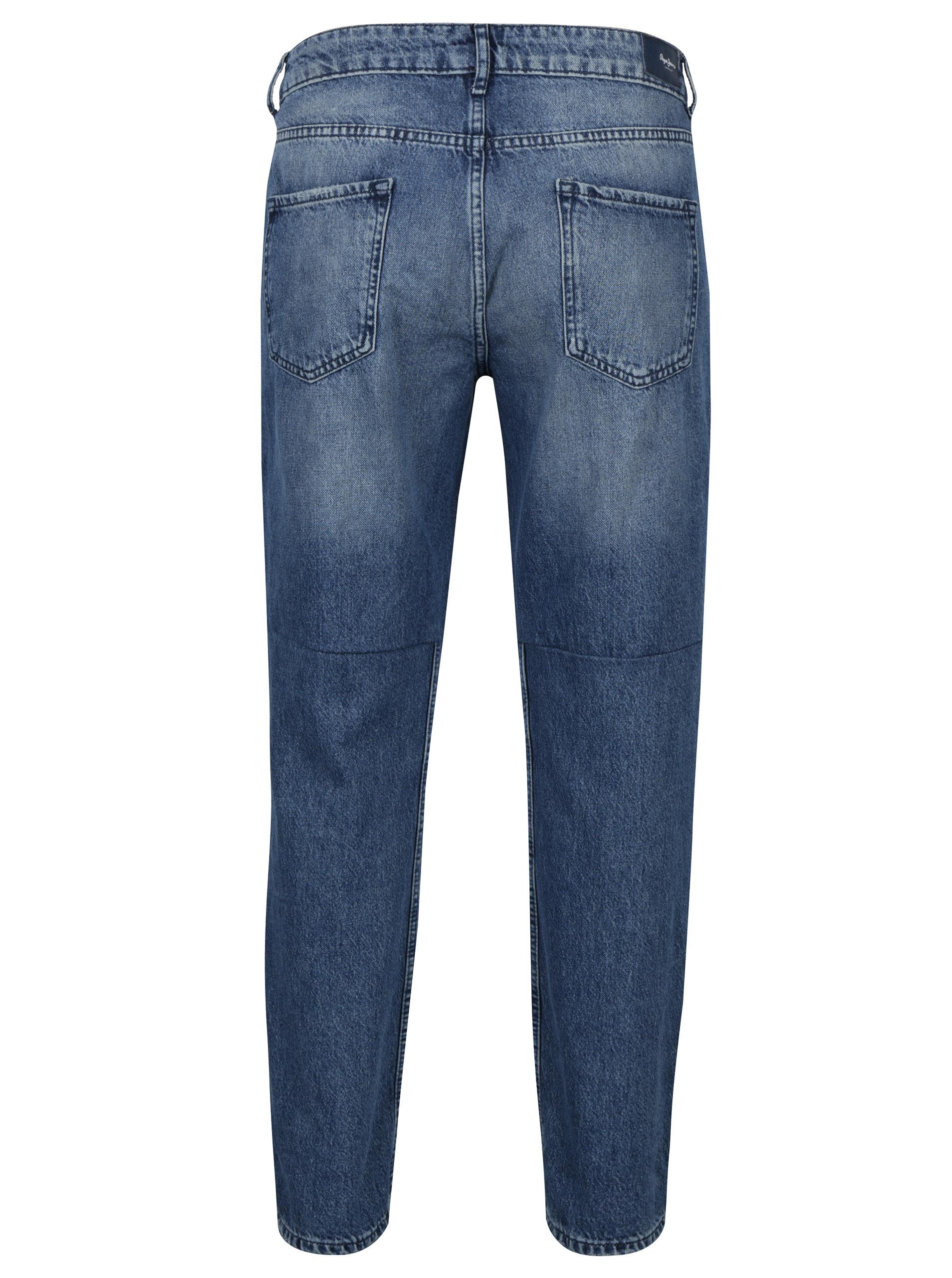 Modré dámské mom džíny s vysokým pasem Pepe Jeans Violet Twist ... 304a12f21c