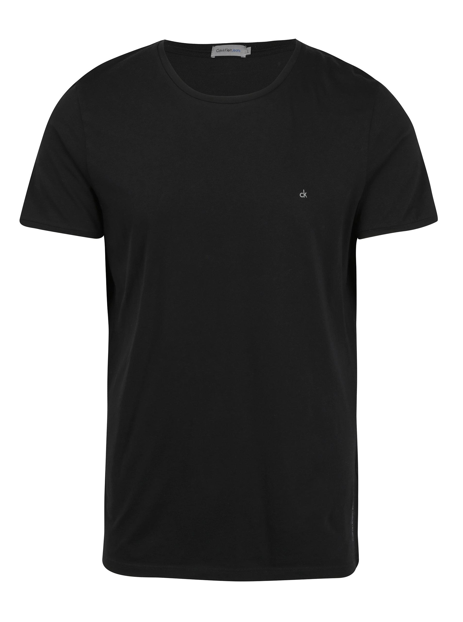 26e5d8be7 Černé pánské tričko Calvin Klein Jeans Bron | ZOOT.cz