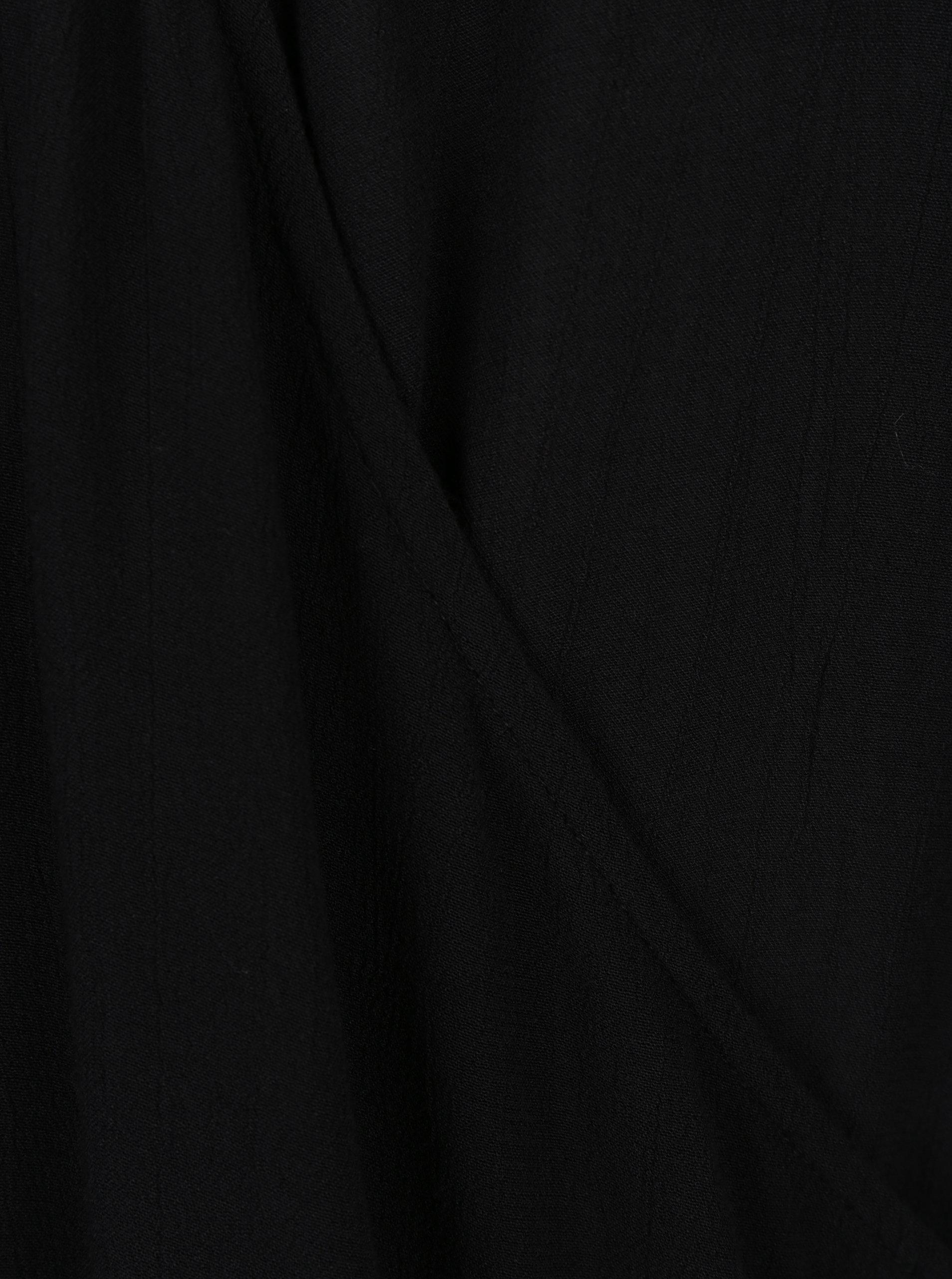 cea26a609b Čierna blúzka s prekladaným výstrihom VERO MODA Misty ...