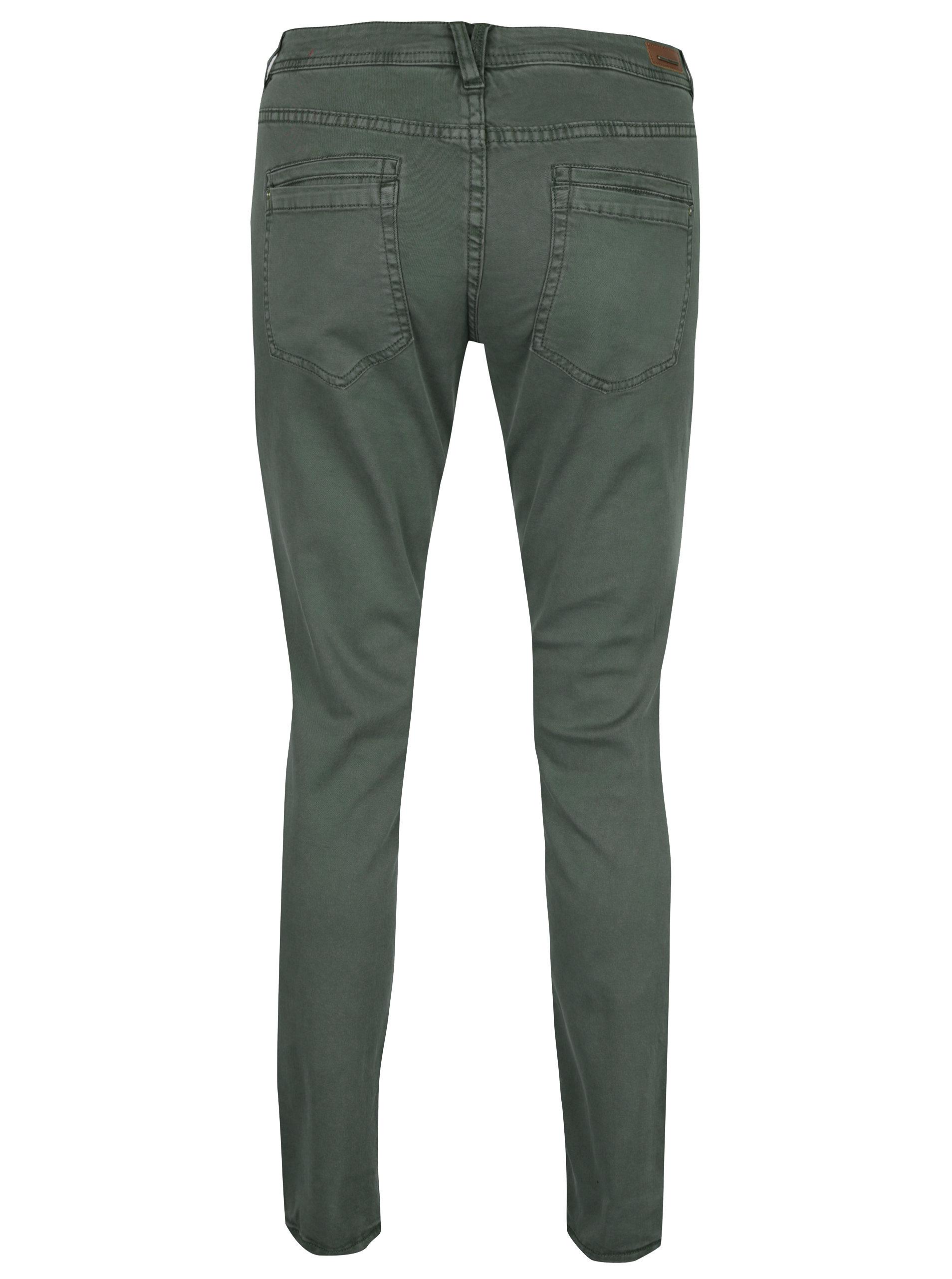 ef0373d1888 Zelené dámské slim fit džíny s.Oliver