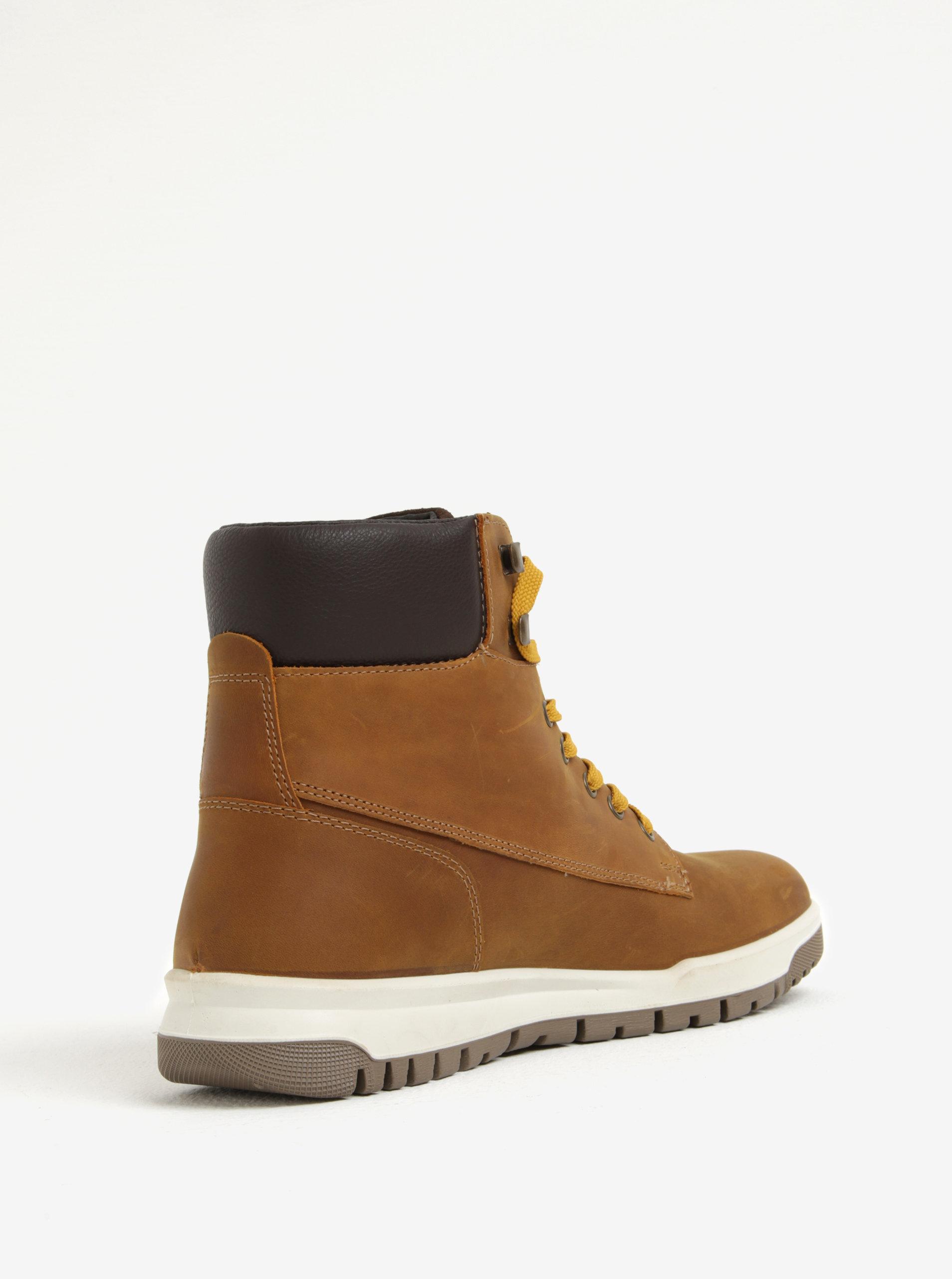 cce2d256cb Hnědé pánské kožené kotníkové boty Weinbrenner Hnědé pánské kožené kotníkové  boty Weinbrenner ...