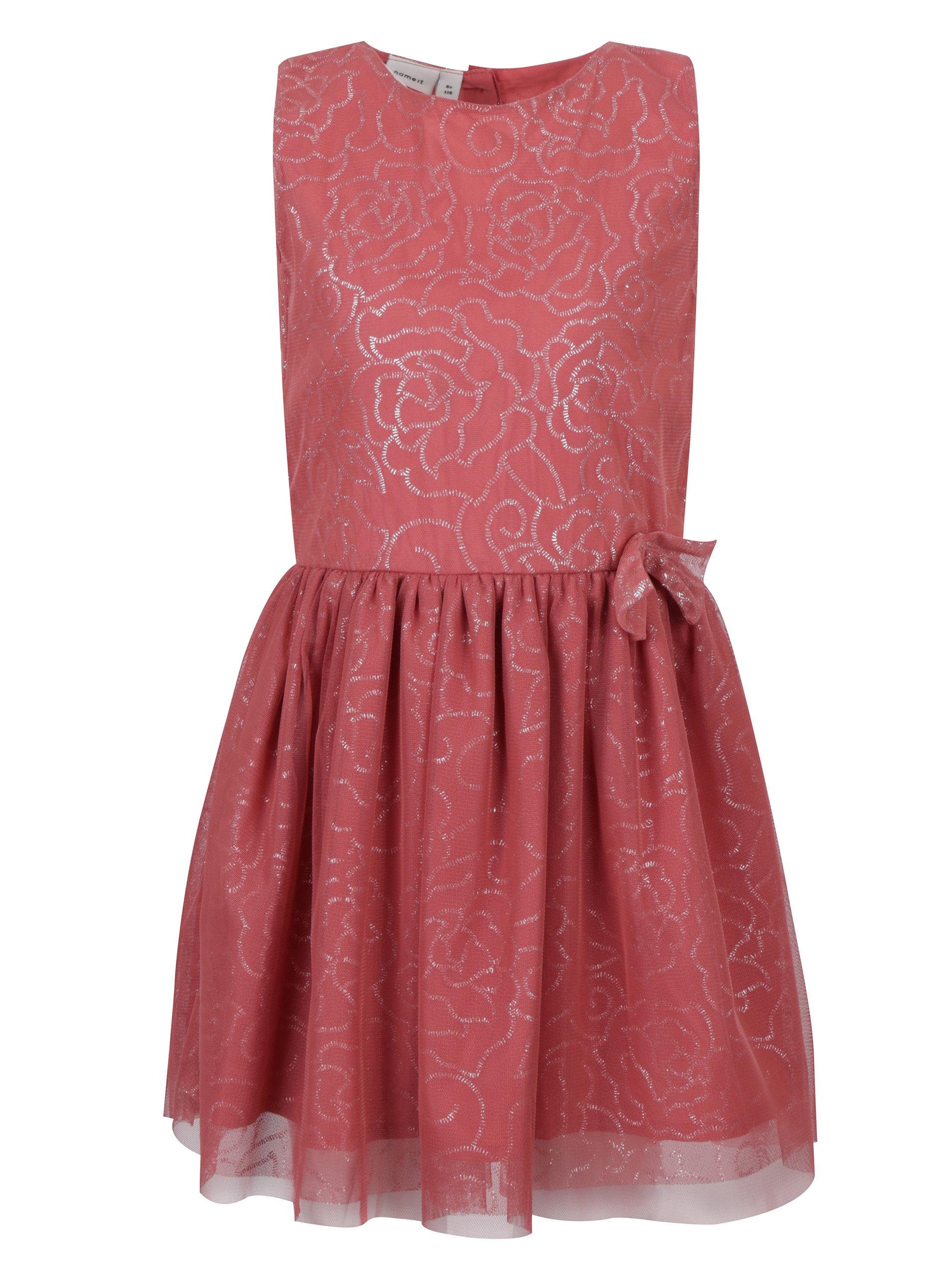 772327943 Růžové holčičí květované šaty name it Isola | ZOOT.cz