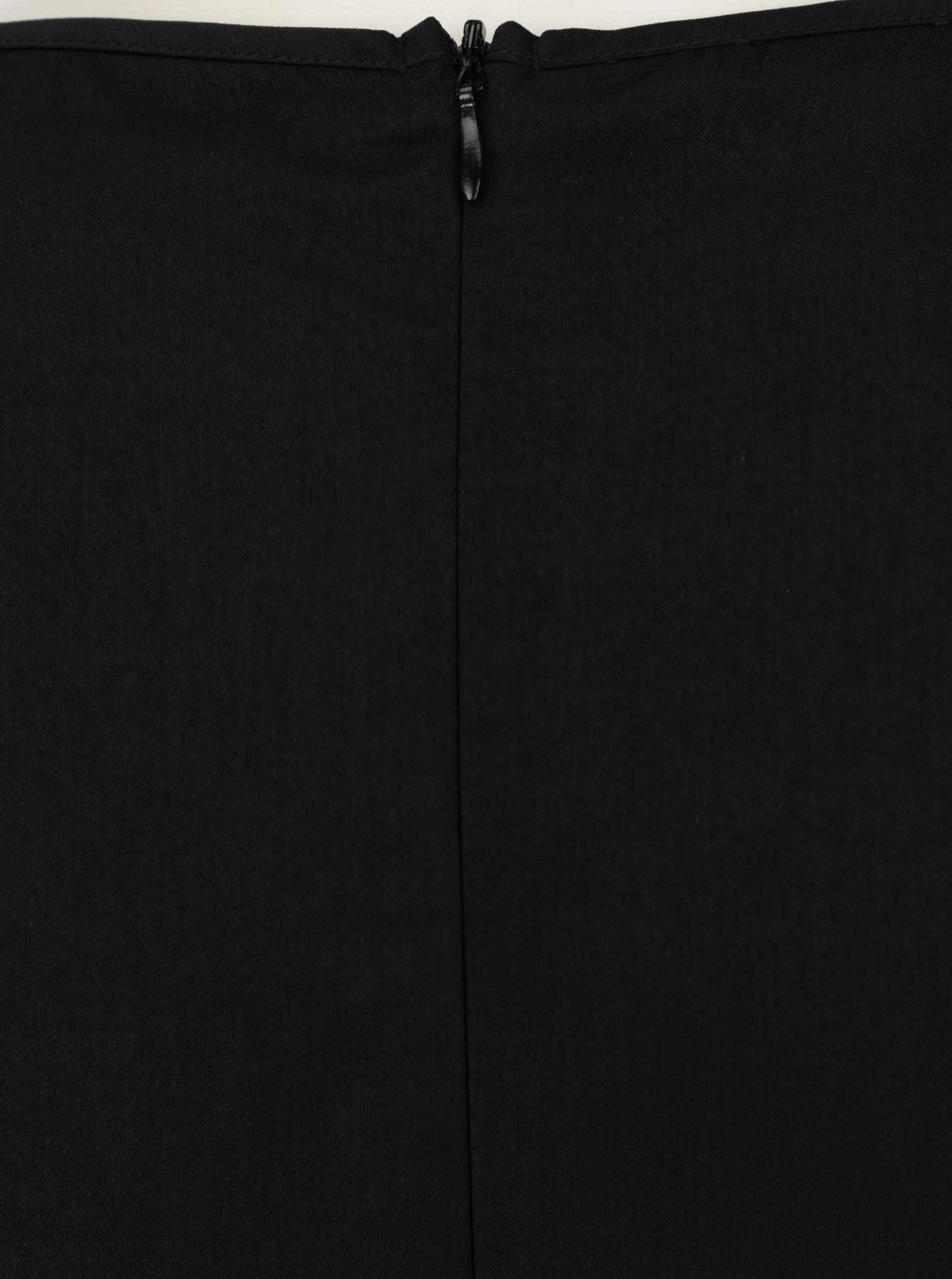 55eb01acc38f Čierne šaty s krátkym rukávom ONLY Riga ...