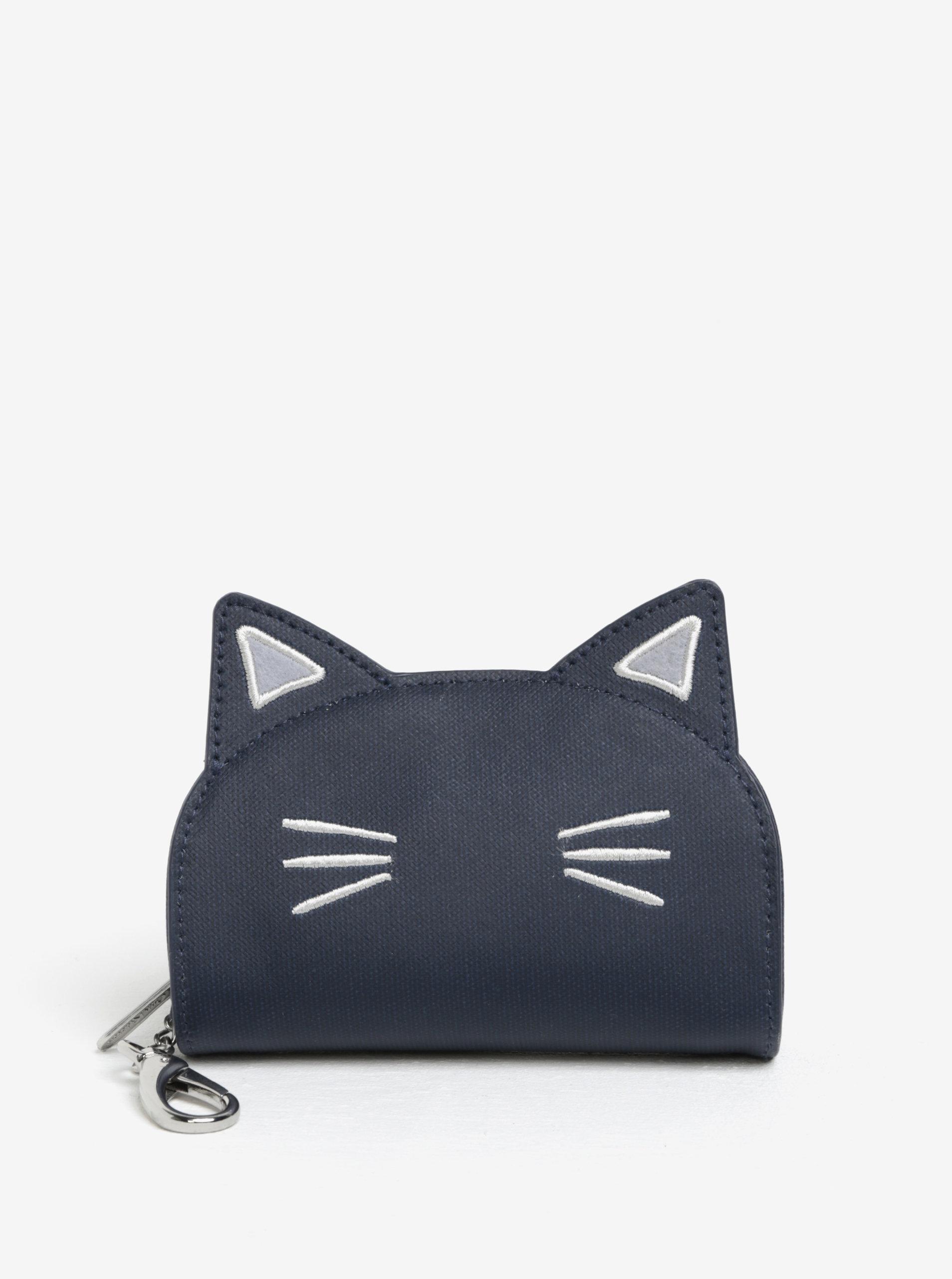 bda54b870 Tmavomodrá peňaženka v tvare mačky Cath Kidston | ZOOT.sk