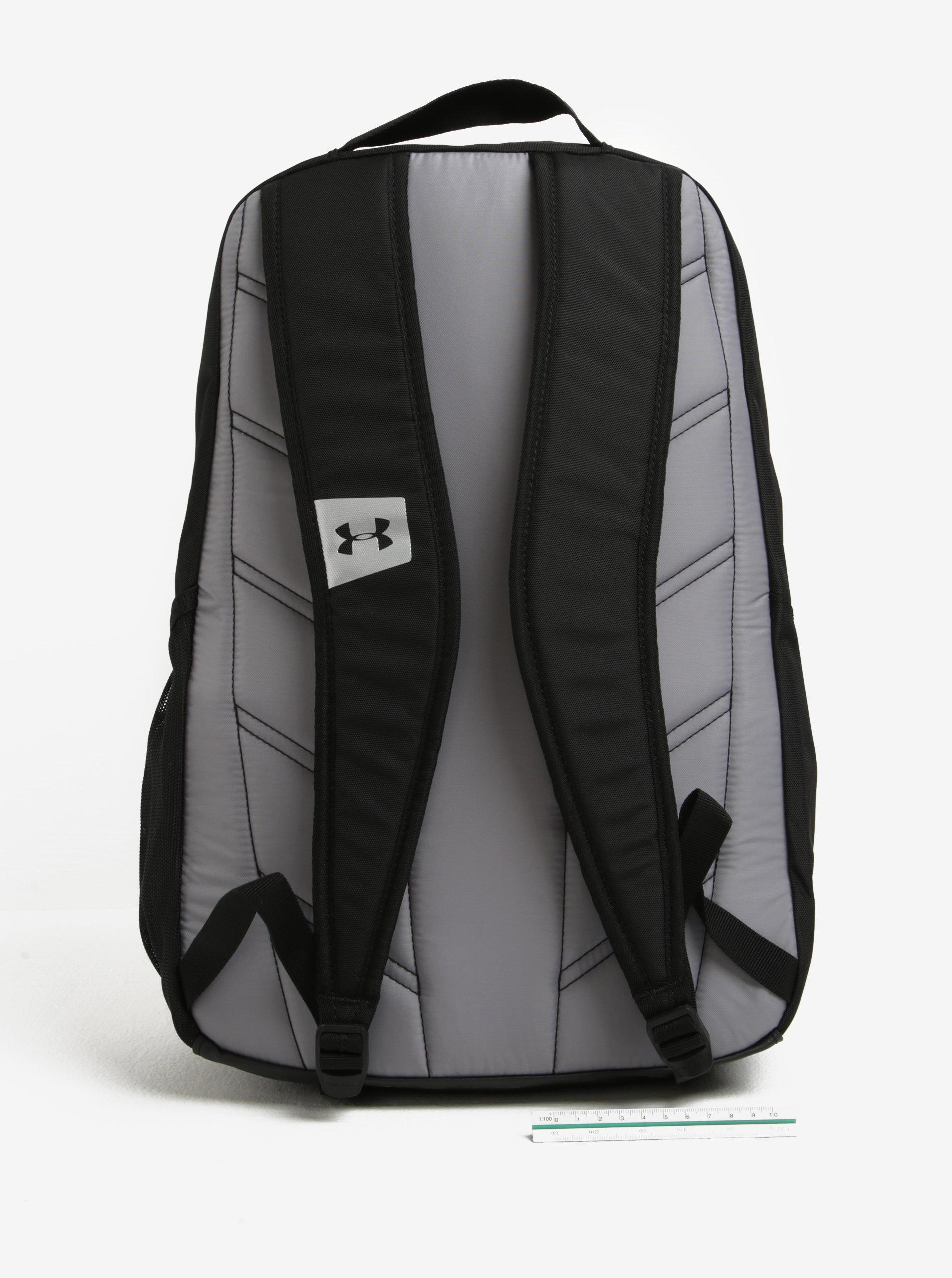 844be4e1d2 Černý voděodolný batoh Under Armour Hustle ...