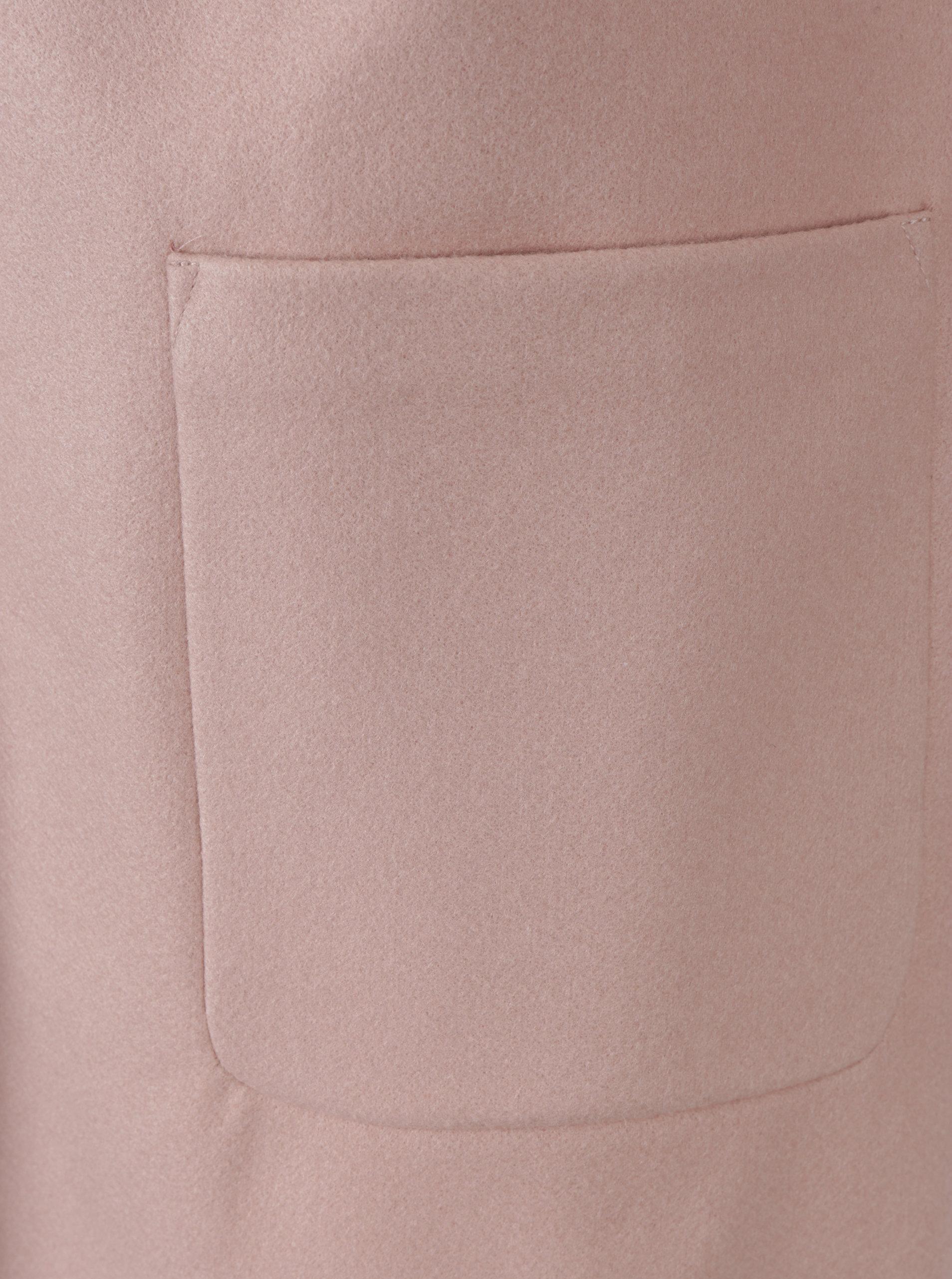 b4b7d18f2c Staroružový kabát s umelou kožušinou Dorothy Perkins ...