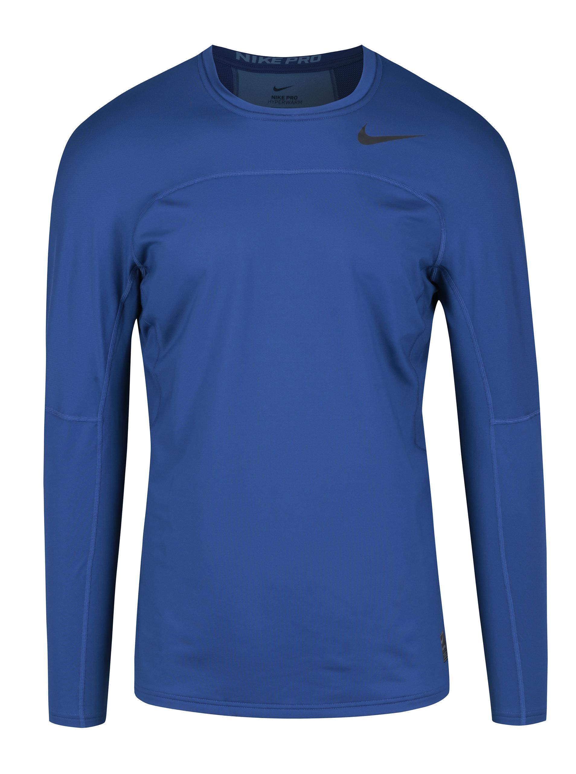 88f63b96db83 Tmavomodré pánske funkčné tričko s dlhým rukávom Nike ...