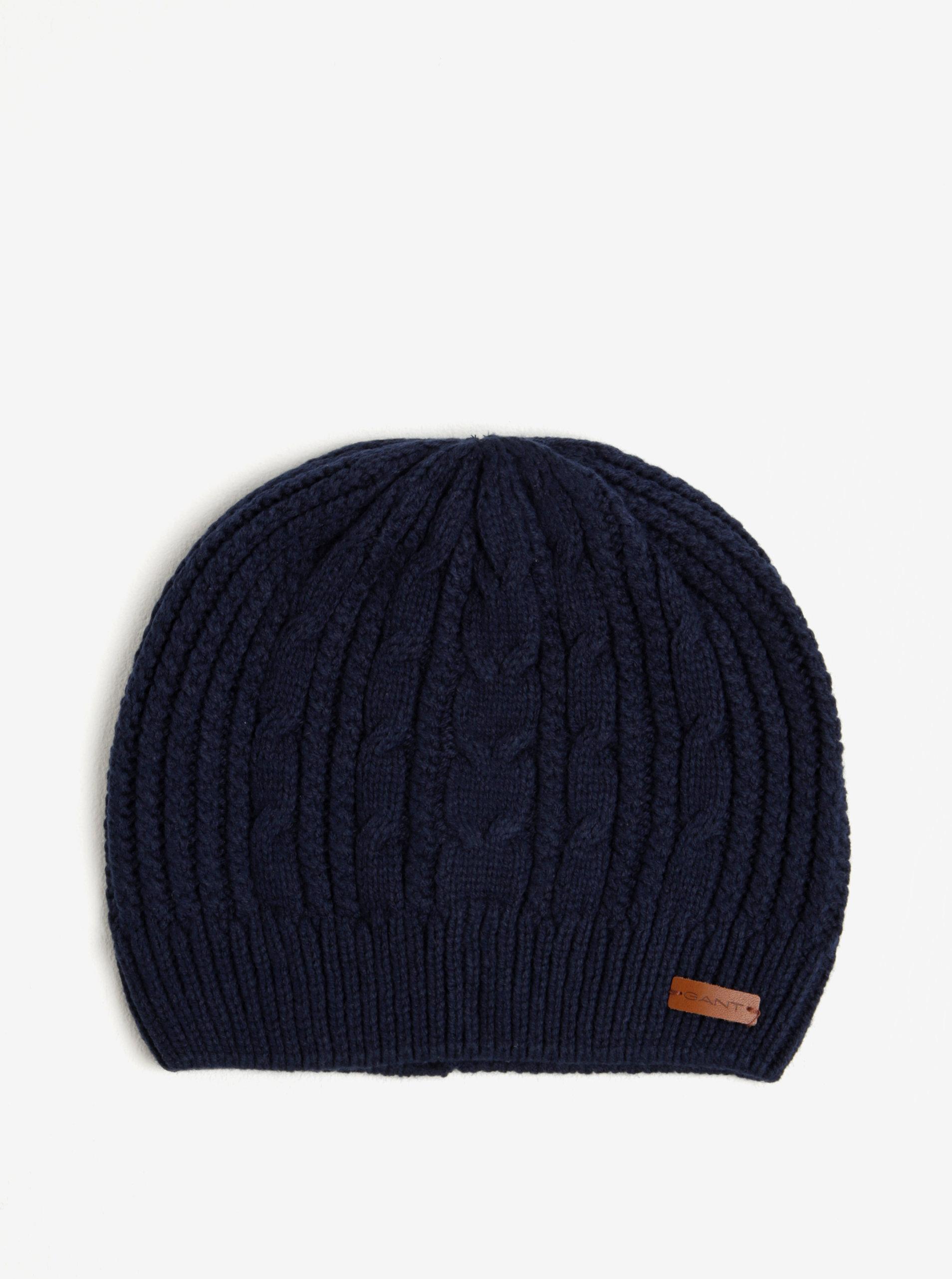 d88ad4ae5 Tmavomodrá pánska čiapka GANT | ZOOT.sk