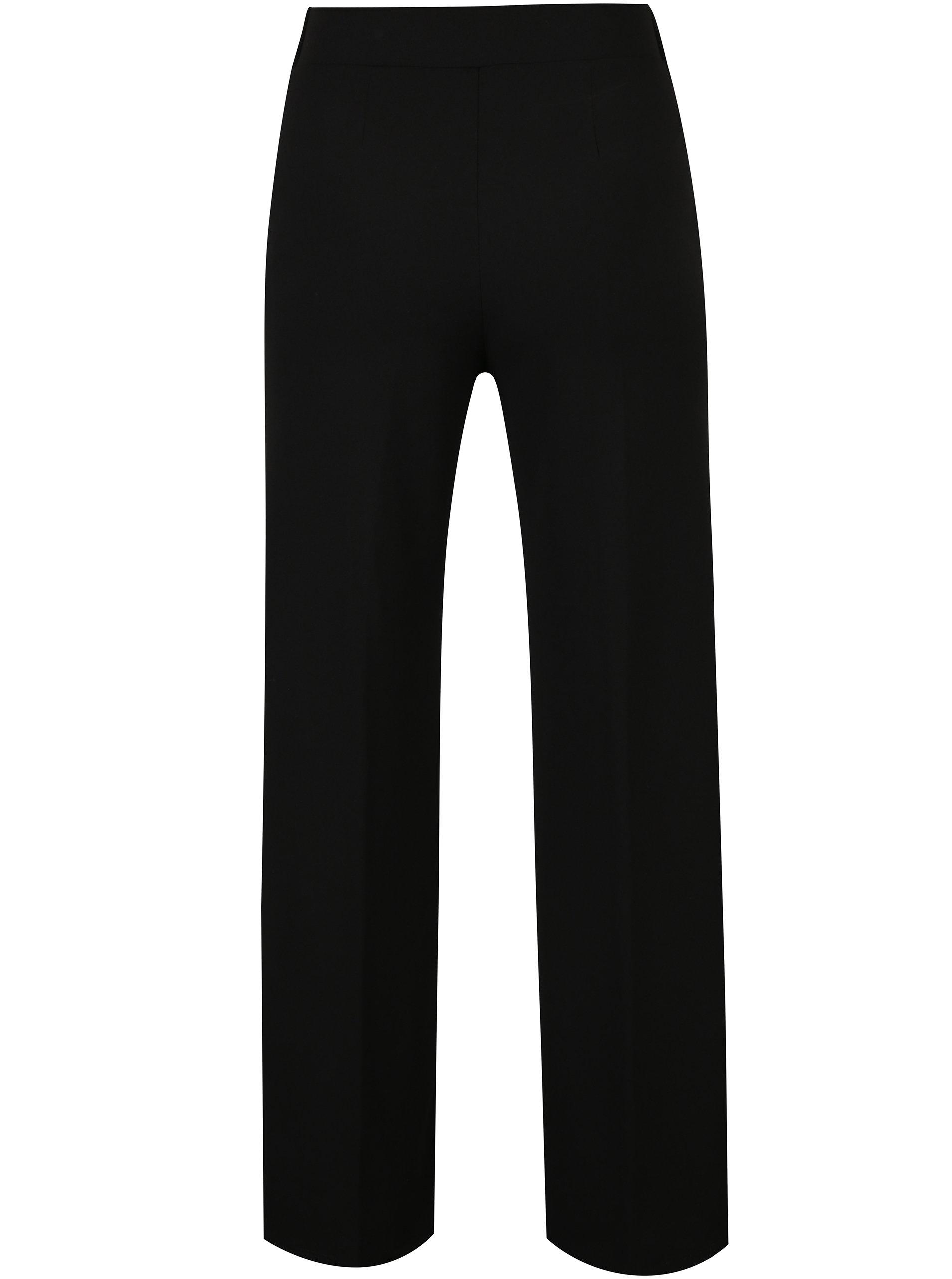 73d63b002b3 Černé široké kalhoty Miss Selfridge Petites ...