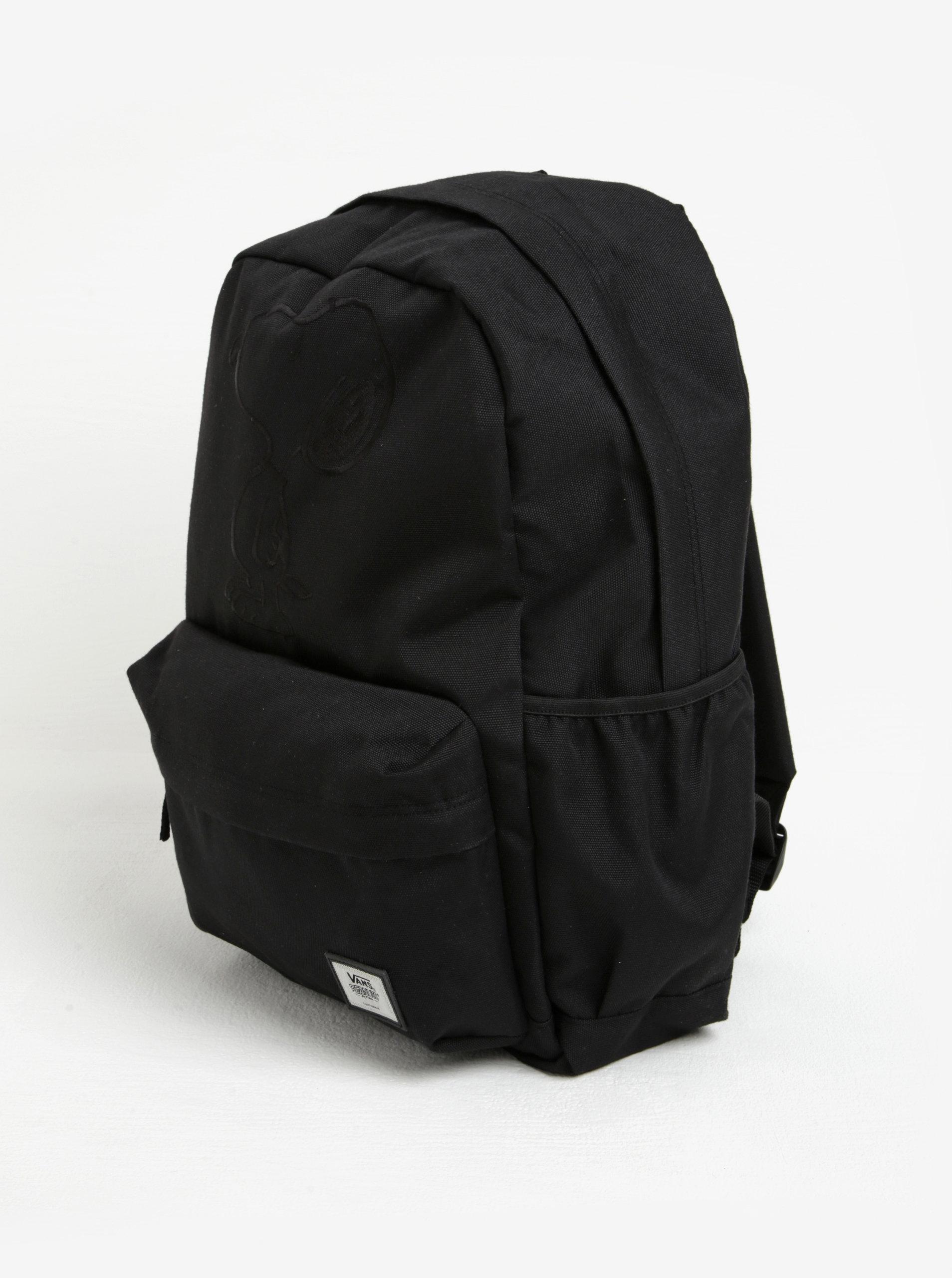 69db88cd695 Černý batoh s výšivkou Vans Peanuts ...