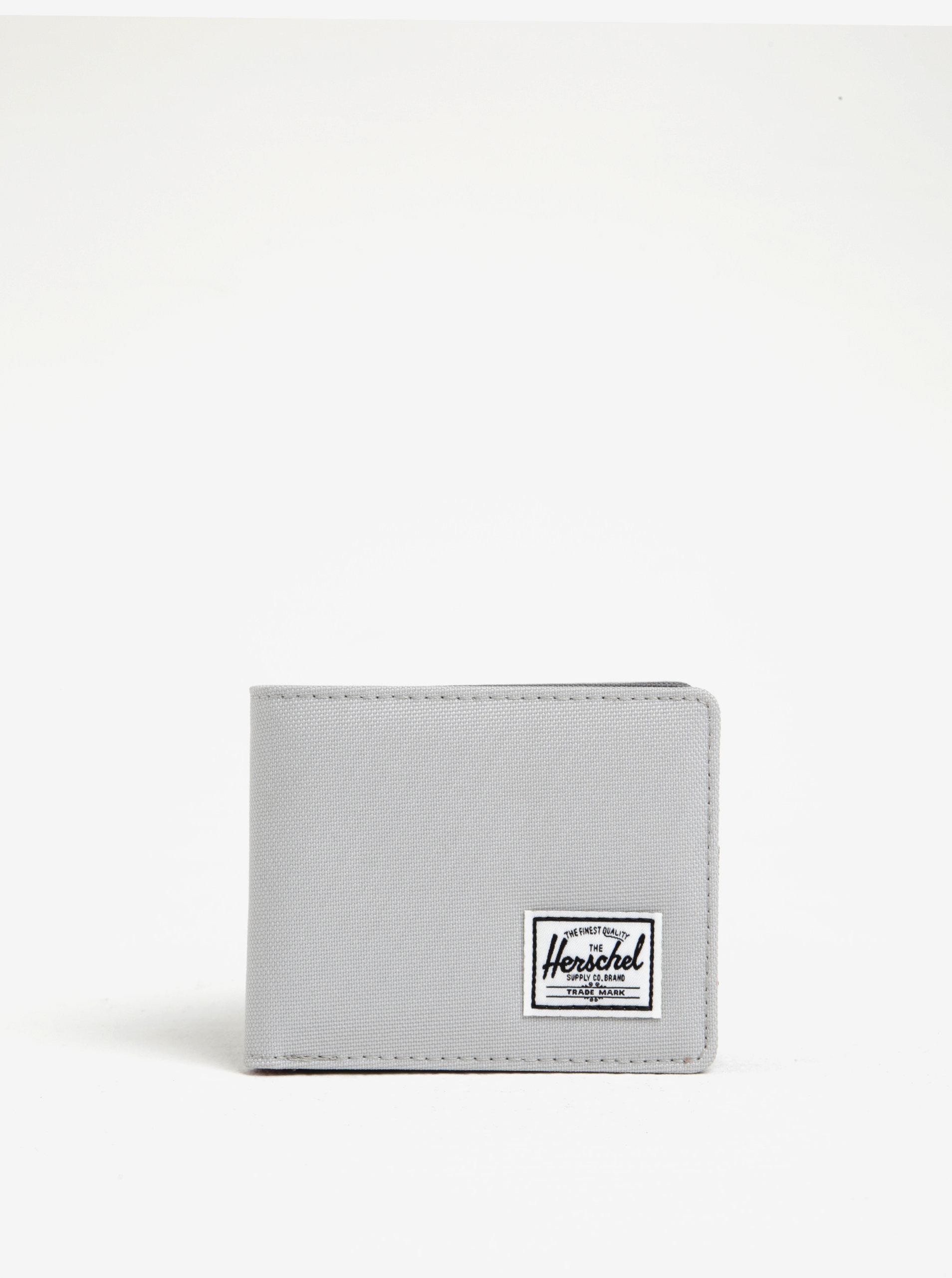 f82b090316 Svetlosivá pánska peňaženka Herschel Roy ...
