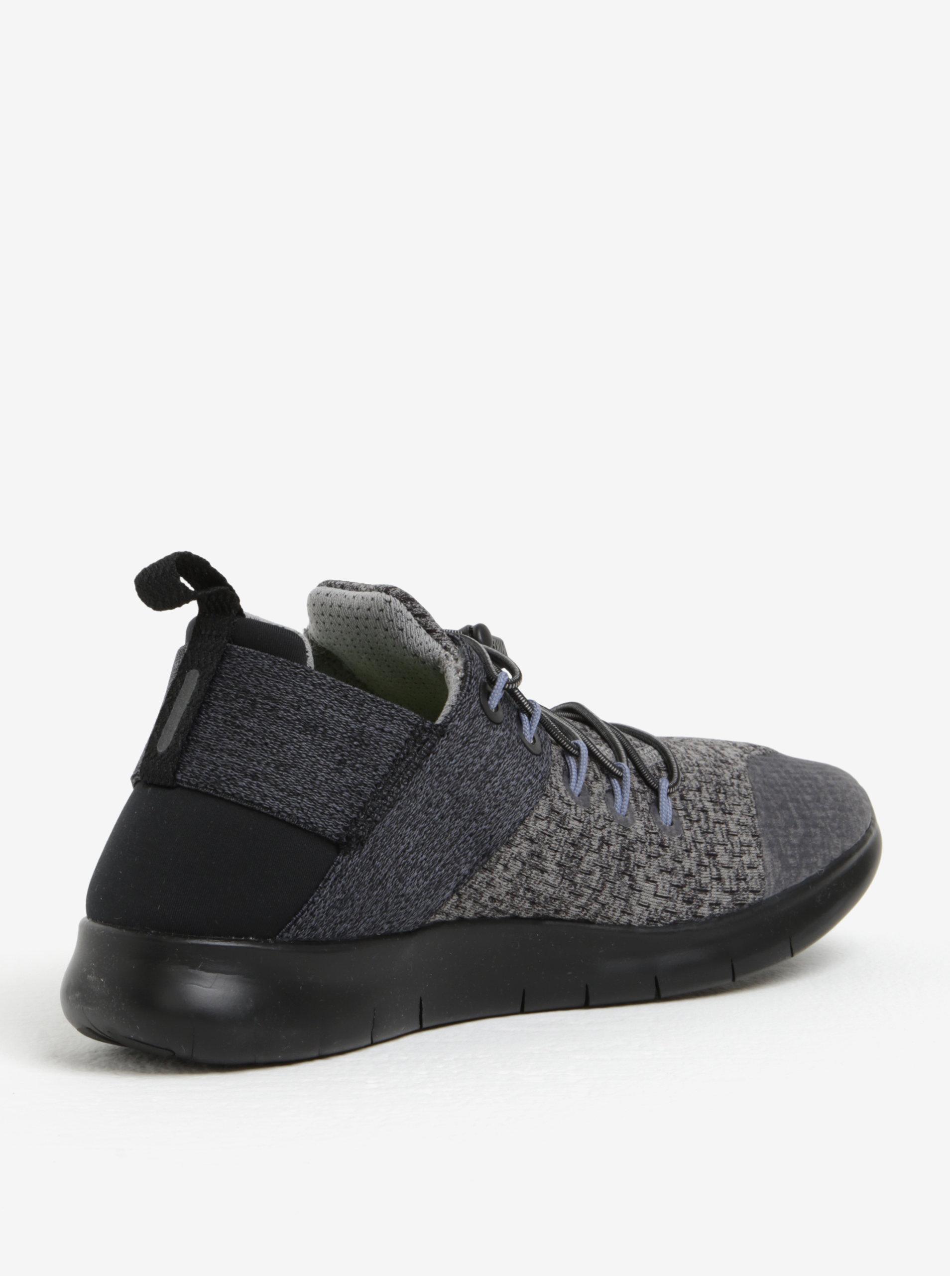 Sivo-čierne dámske tenisky Nike Free RN Commuter ... 12a384d4c13