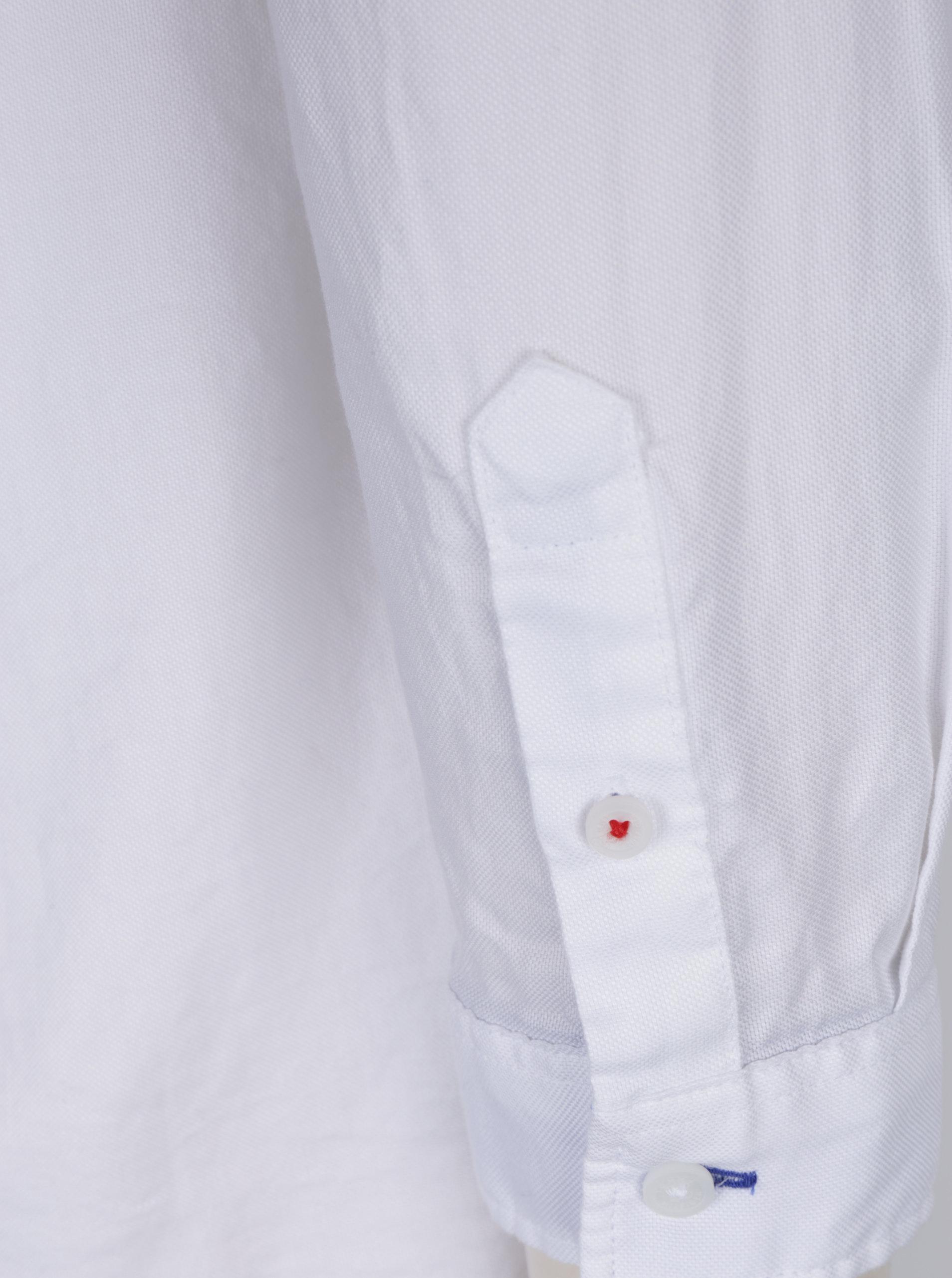 4a28410d0049 Biela dámska fitted košeľa Tommy Hilfiger Jenna ...