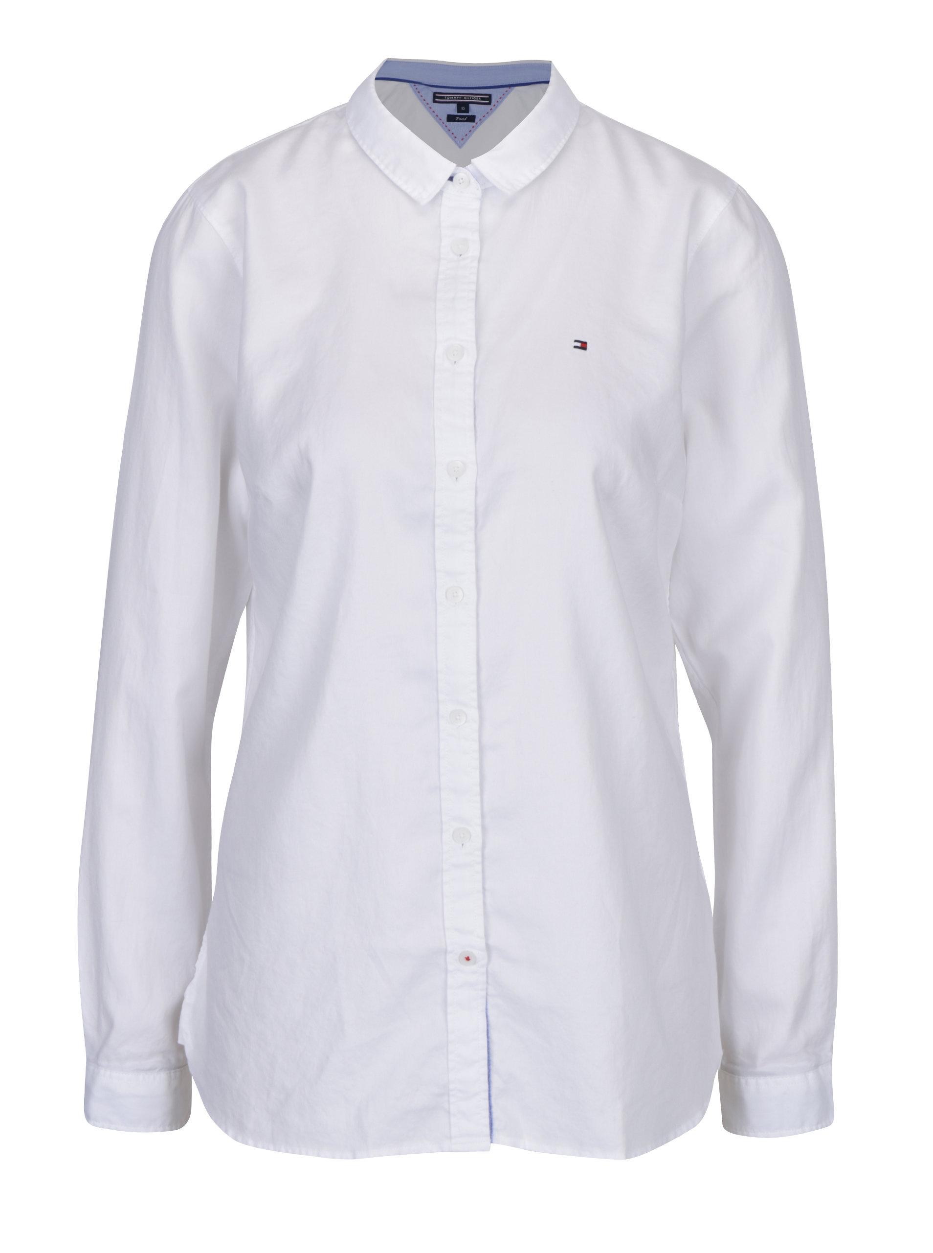 4f0876612be Bílá dámská fitted košile Tommy Hilfiger Jenna ...