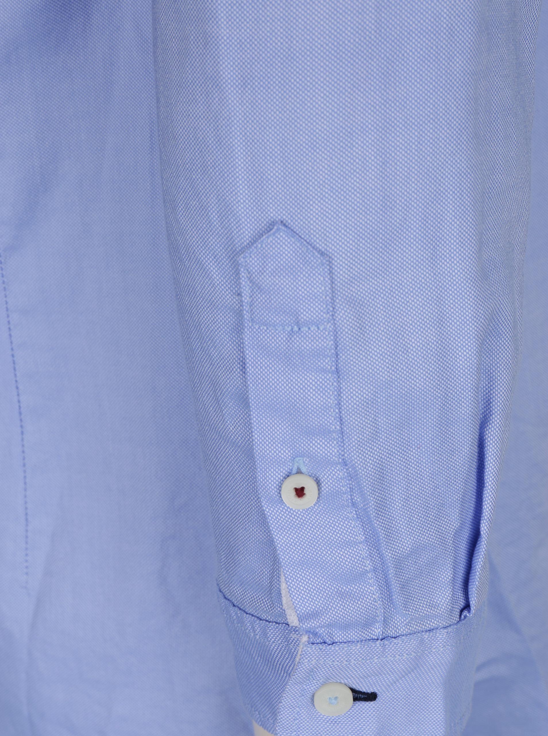 be1b8df227a5 Modrá dámska fitted košeľa Tommy Hilfiger Jenna ...