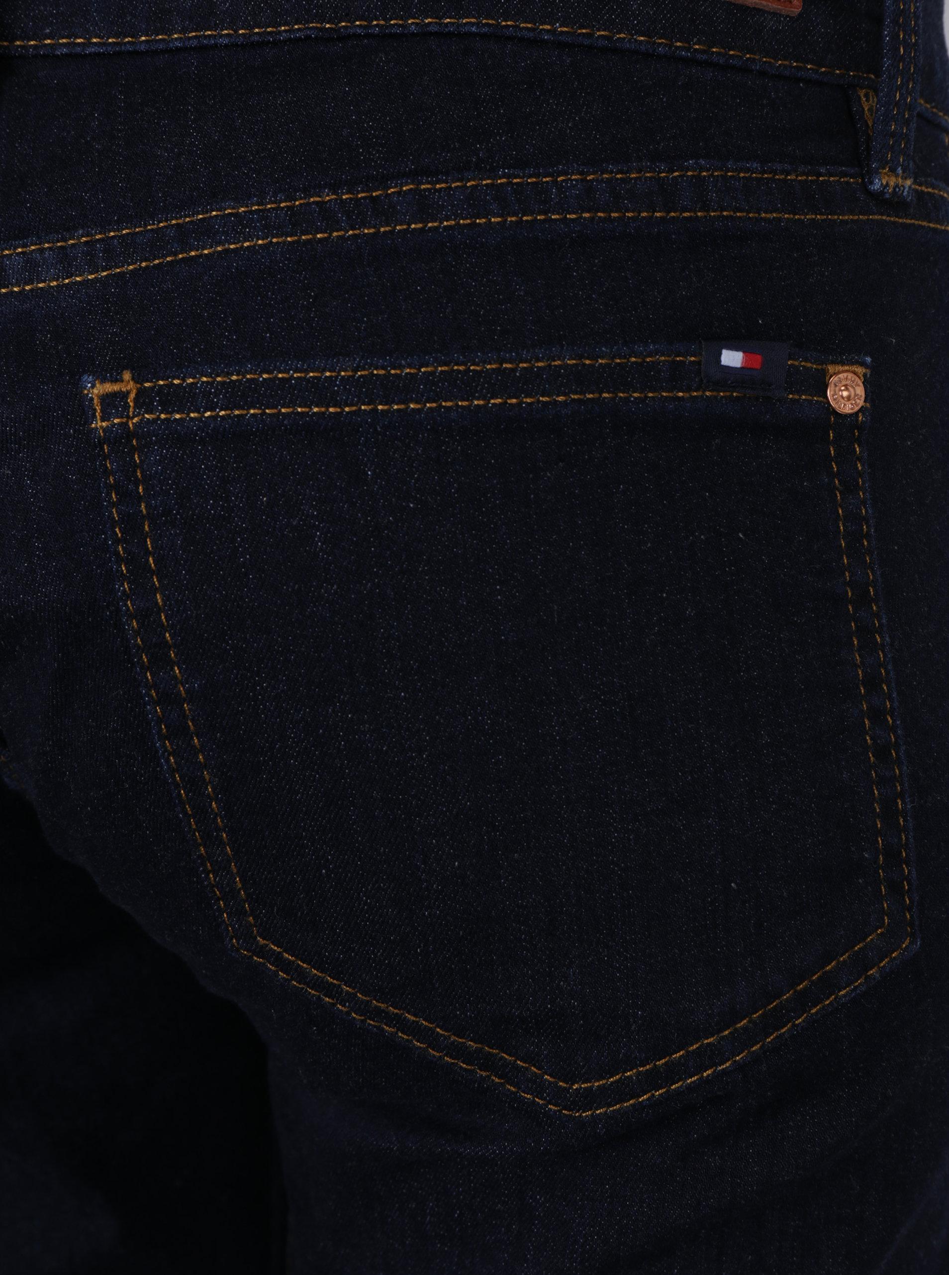 Tmavě modré dámské slim fit džíny Tommy Hilfiger Chrissy ... da1cdbcab6