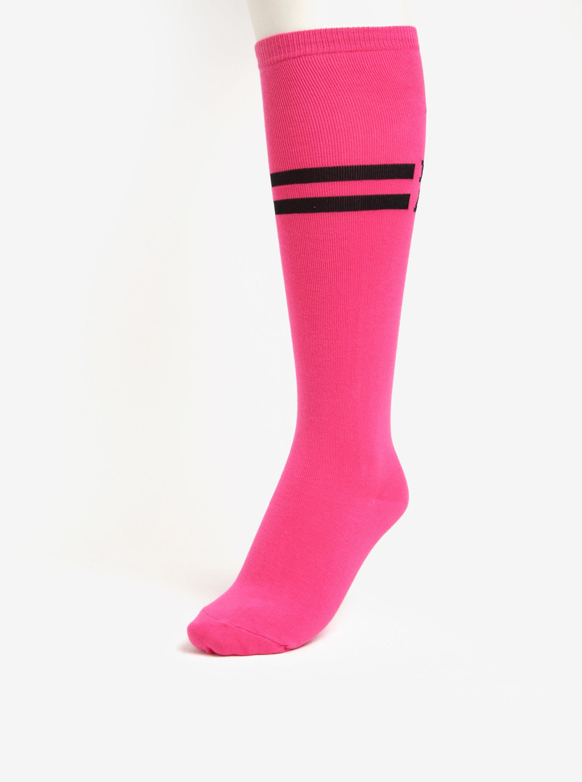 558ddf53c00 Růžové dámské podkolenky Sock It to Me Pink Badass ...