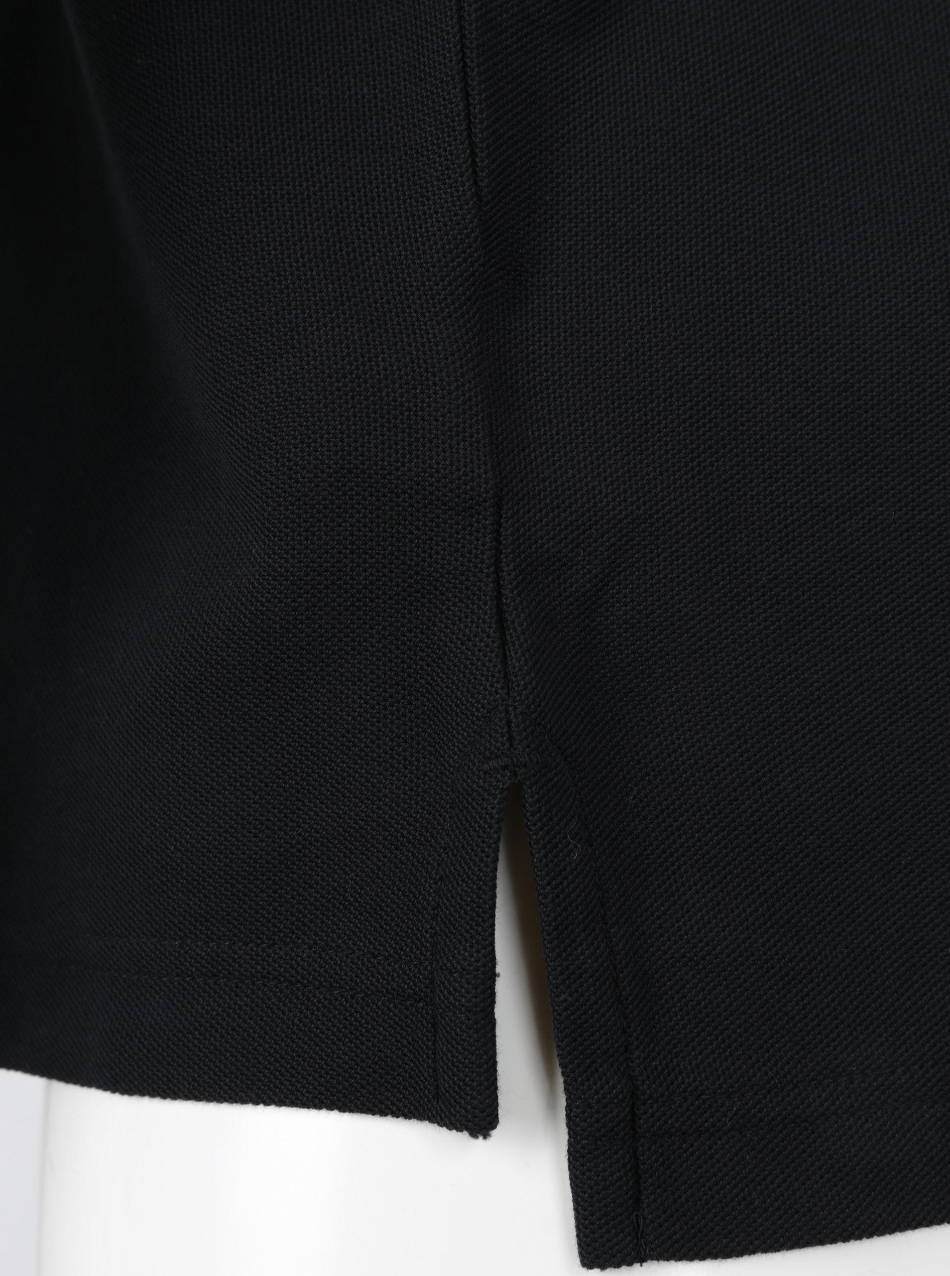 Čierna pánska regular fit polokošeľa Tommy Hilfiger ... a2bbde529a8